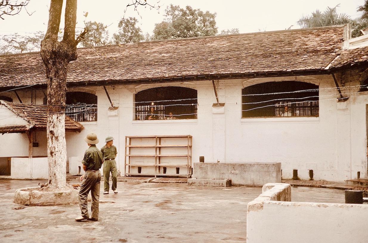 The Hanoi Hilton prison 1973.