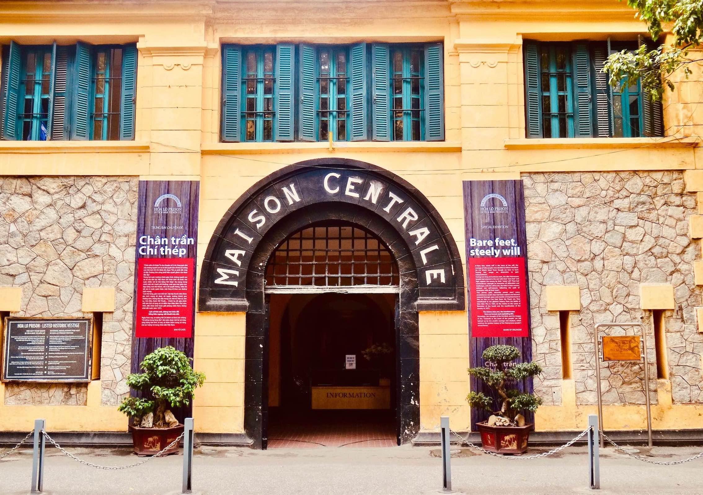 Visit Hanoi Hoa Lo Prison.