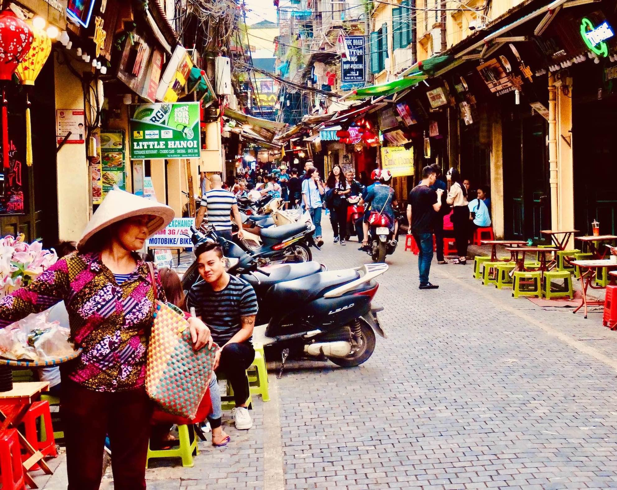 Visit Hanoi.