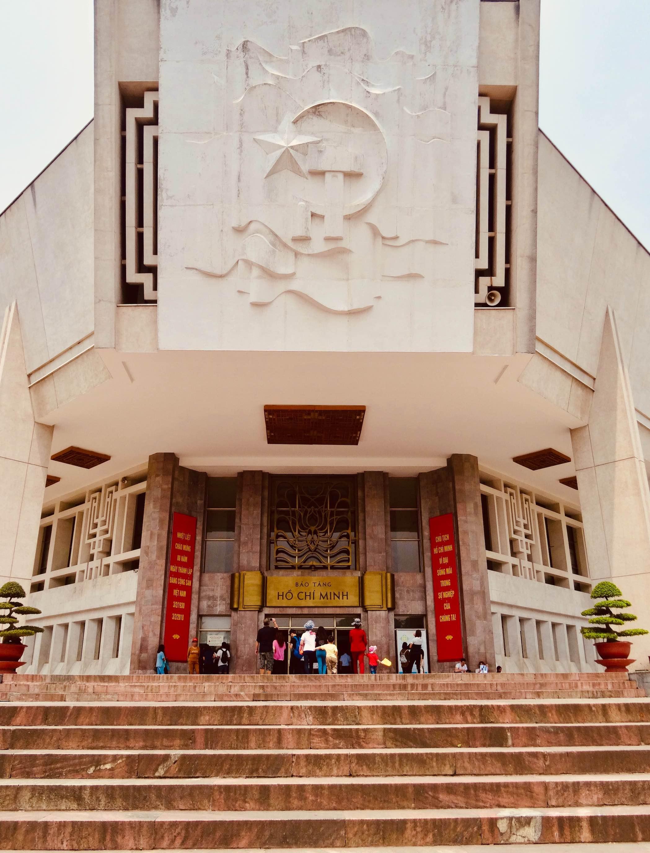 Visit Ho Chi Minh Museum Hanoi.