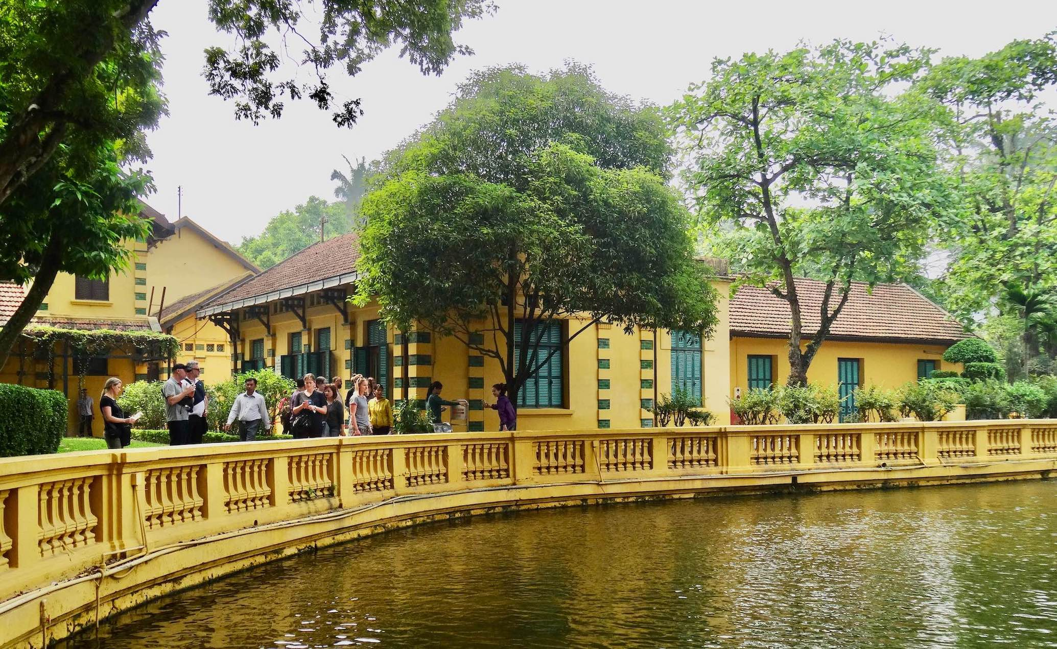 Visit The Ho Chi Minh Complex in Hanoi