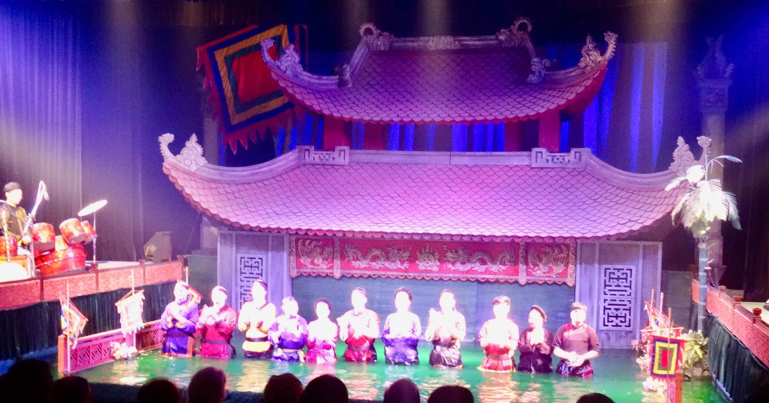 Water Puppet Theatre in Hanoi.