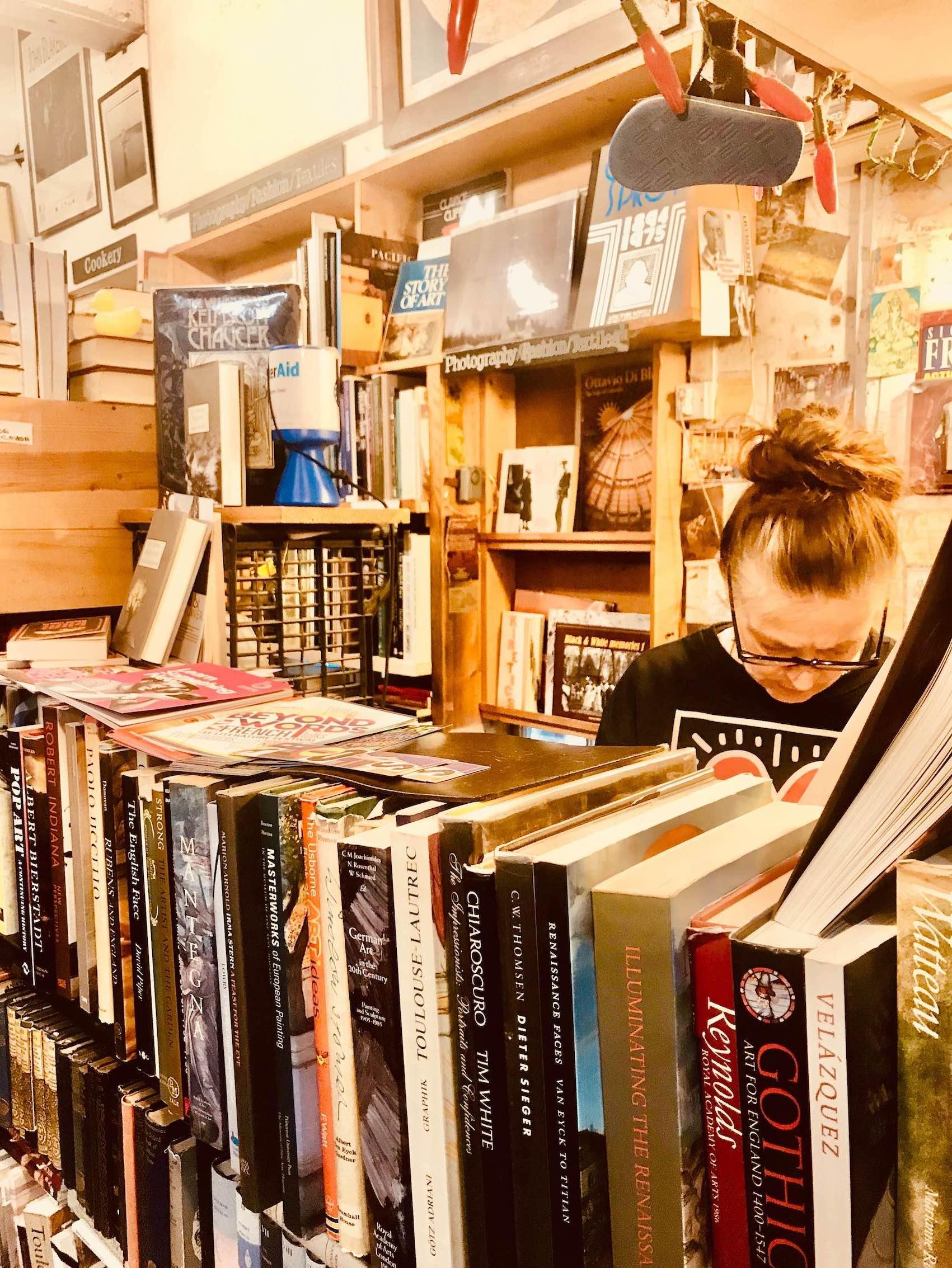 Camden Town Black Gull Books.
