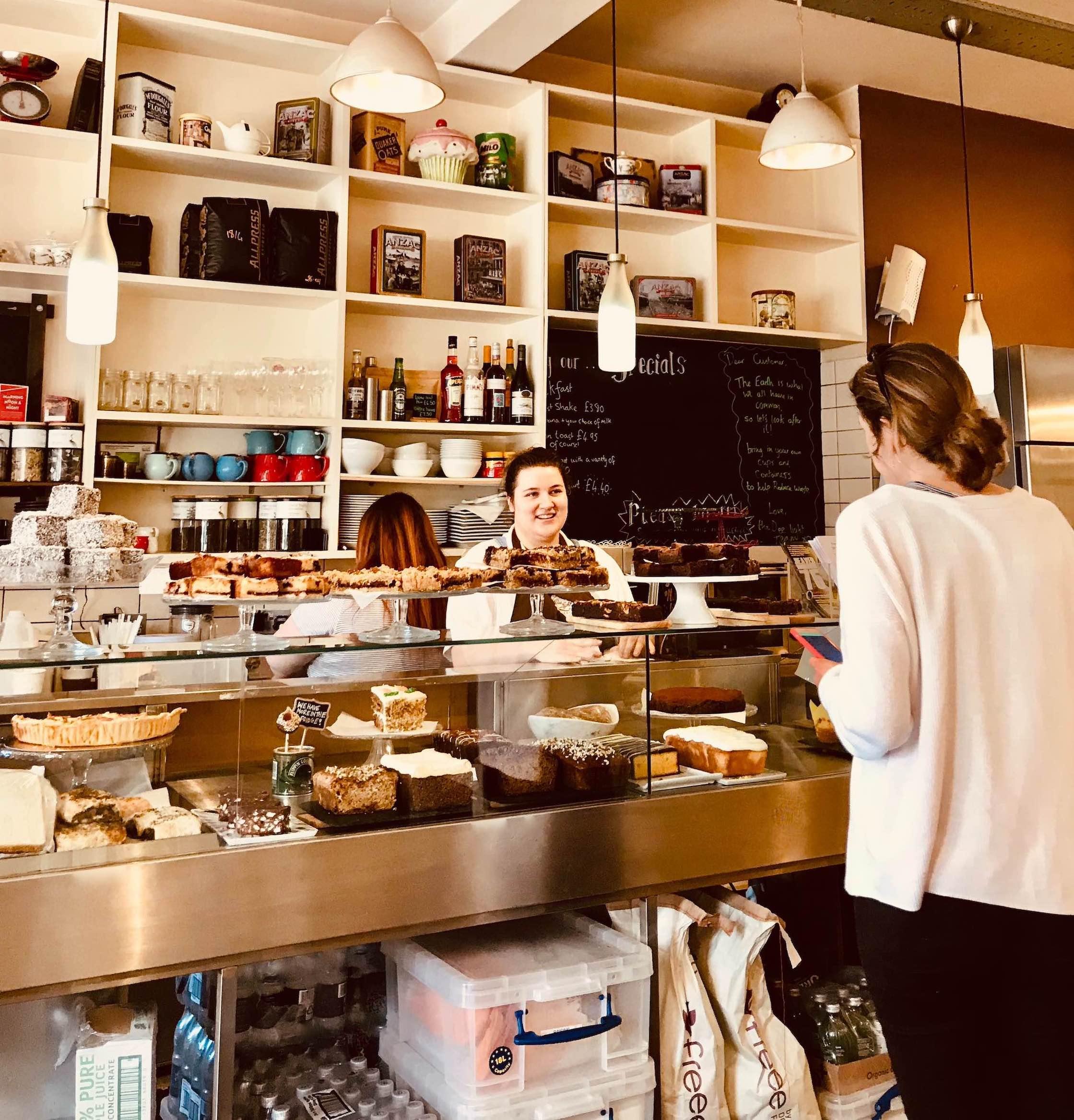 Dee Light Bakery in London.