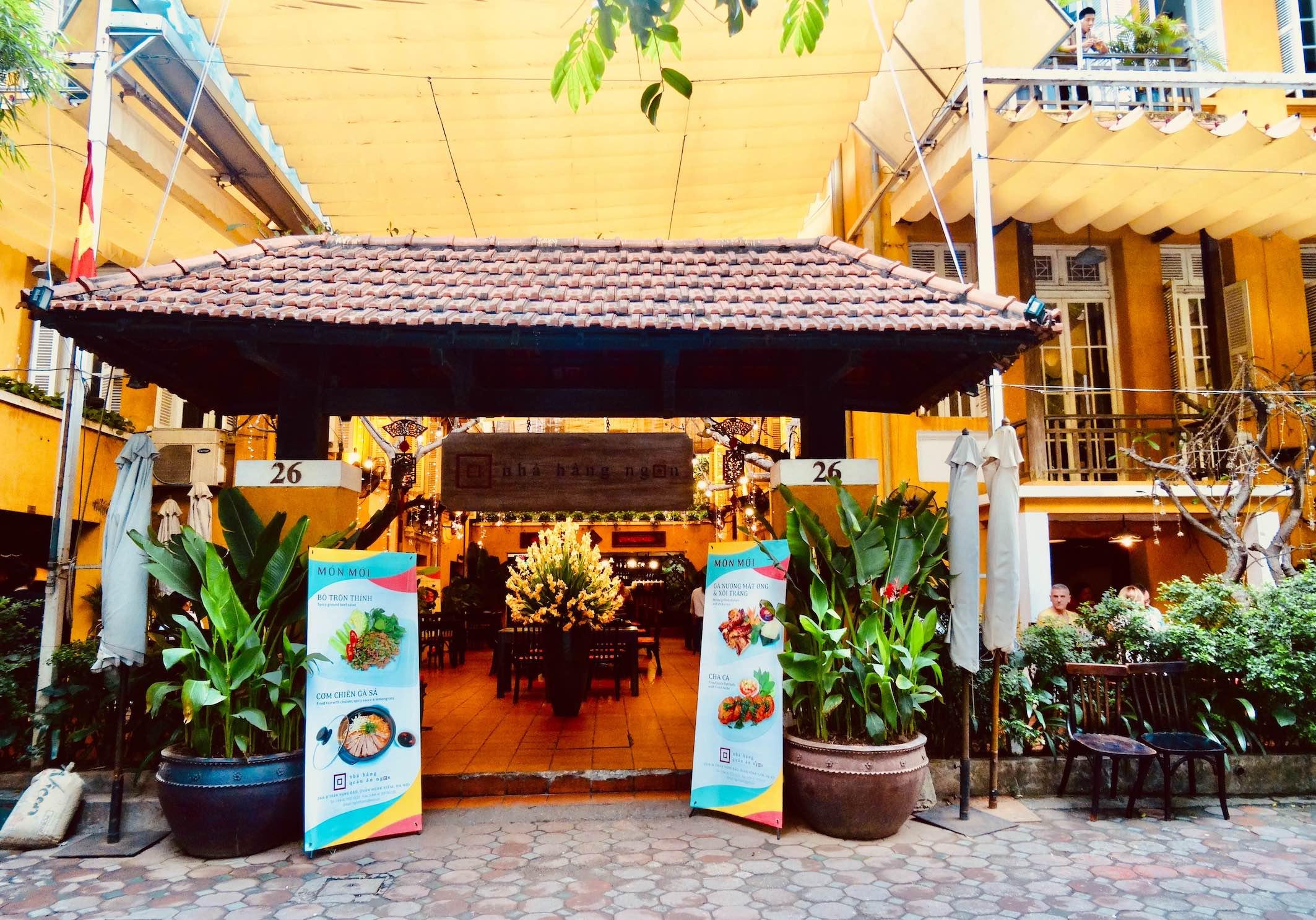 Nha Hang Ngon Restaurant.