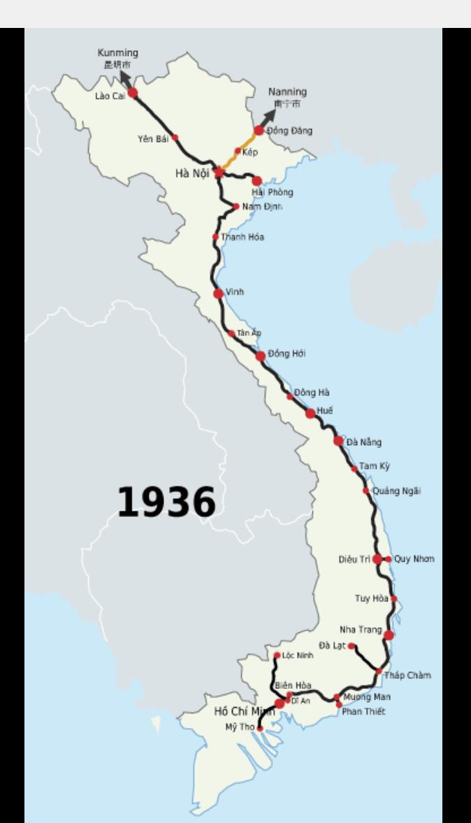 North-South Railway service Vietnam