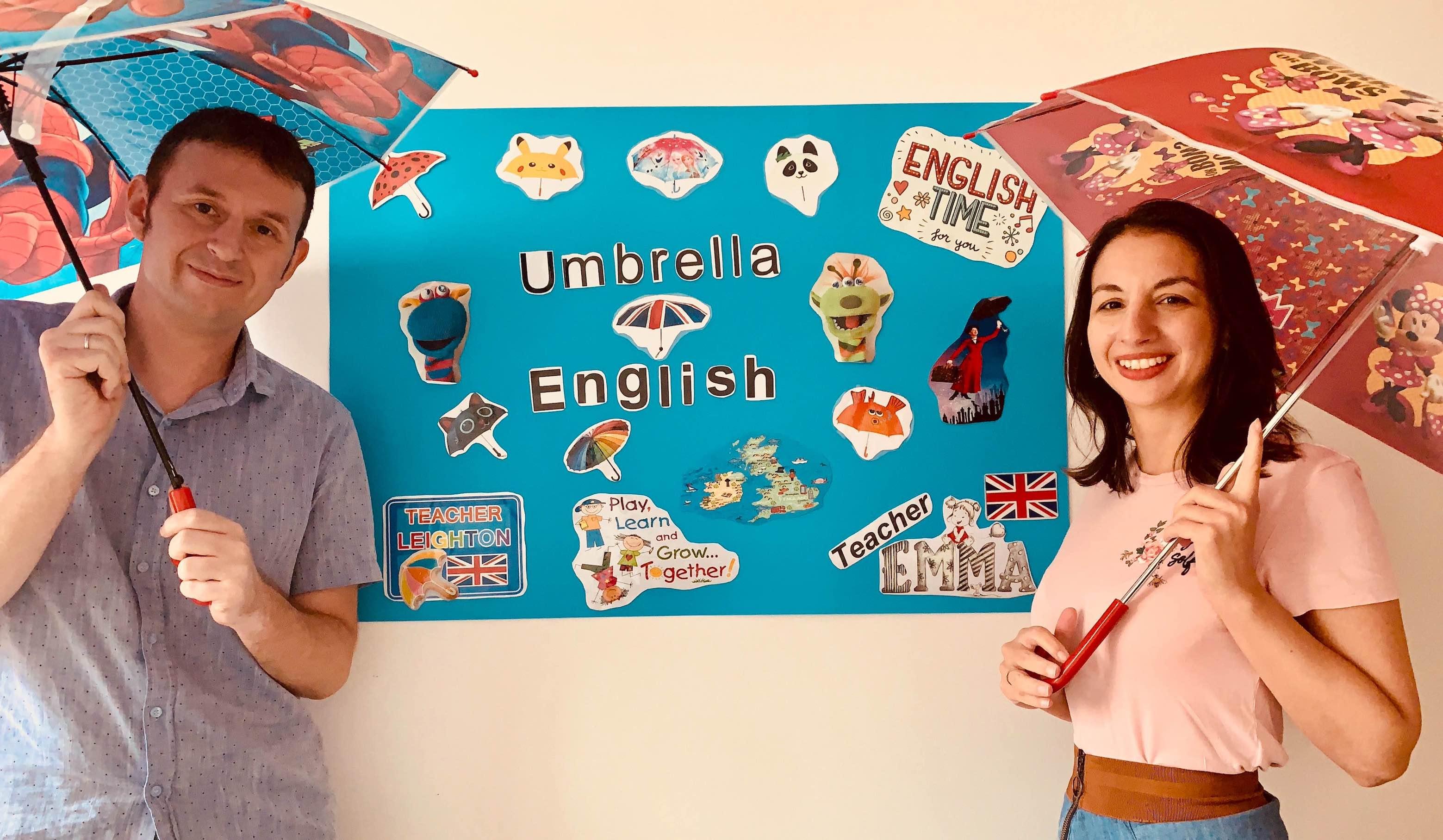 Online English Language School.