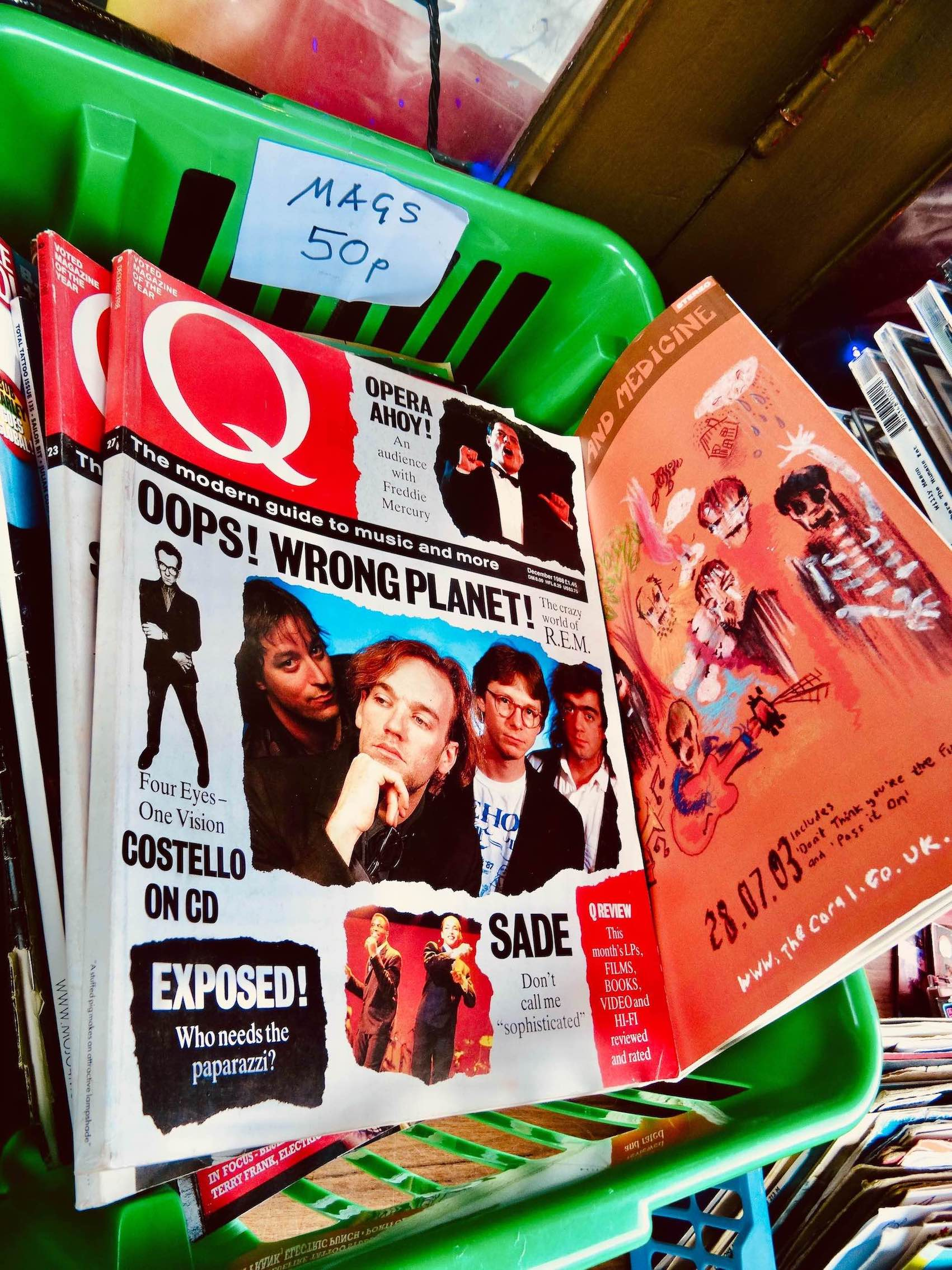 Q Magazines Rock n Roll Rescue Camden Town