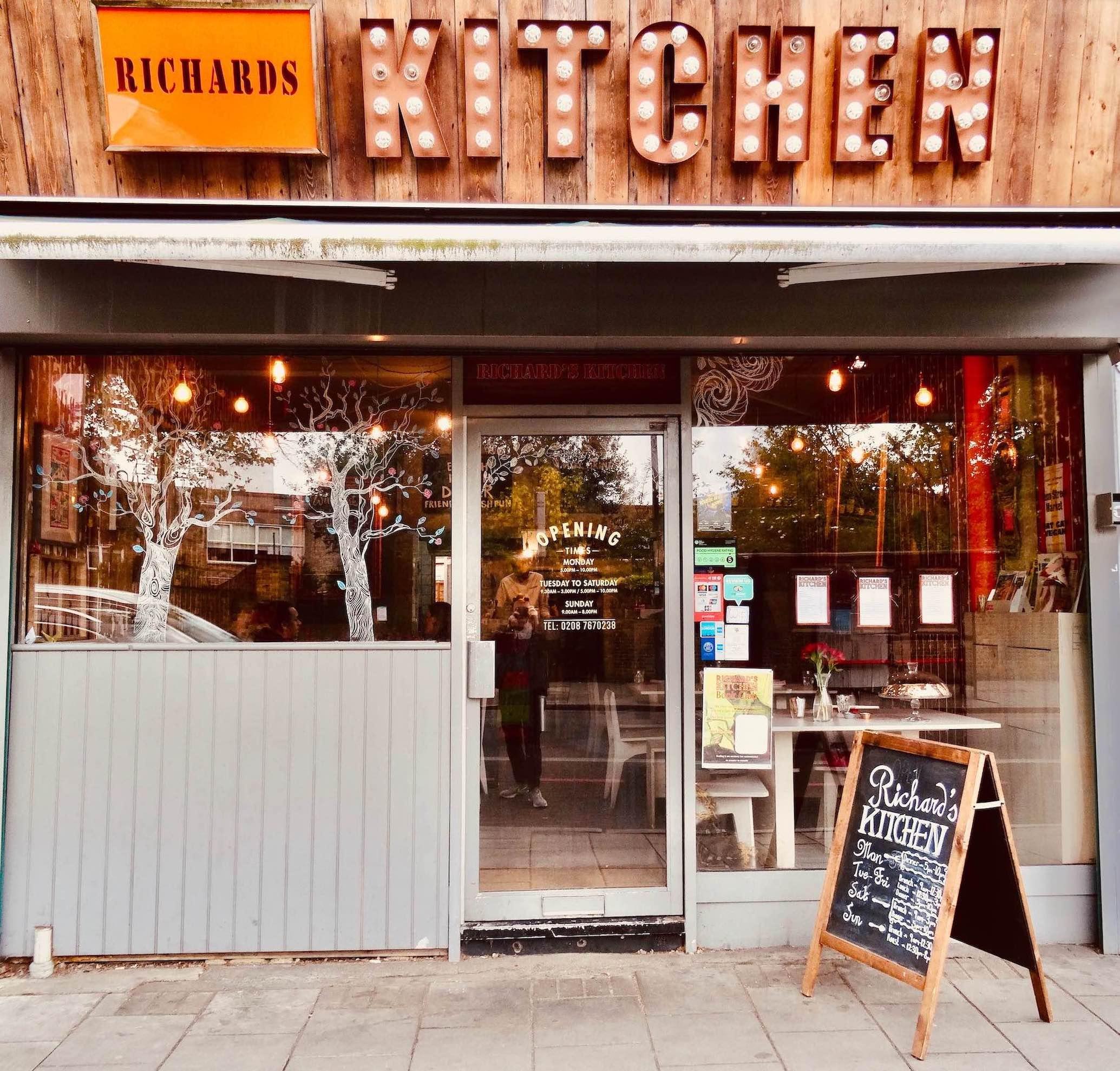 Richard's Kitchen Tooting Bec London