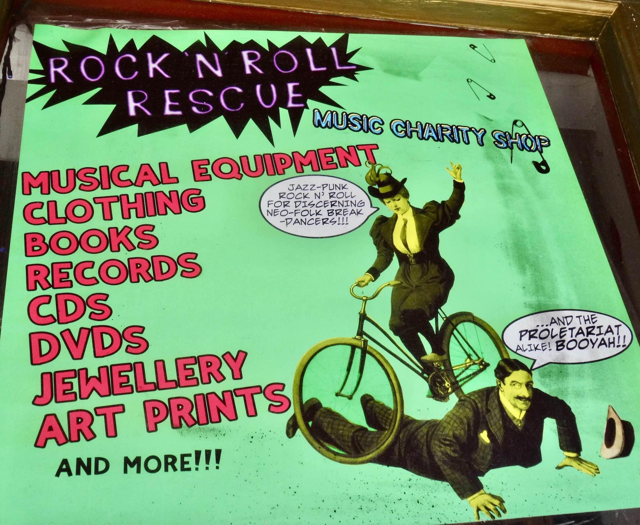 Rock n Roll Rescue Camden Town.