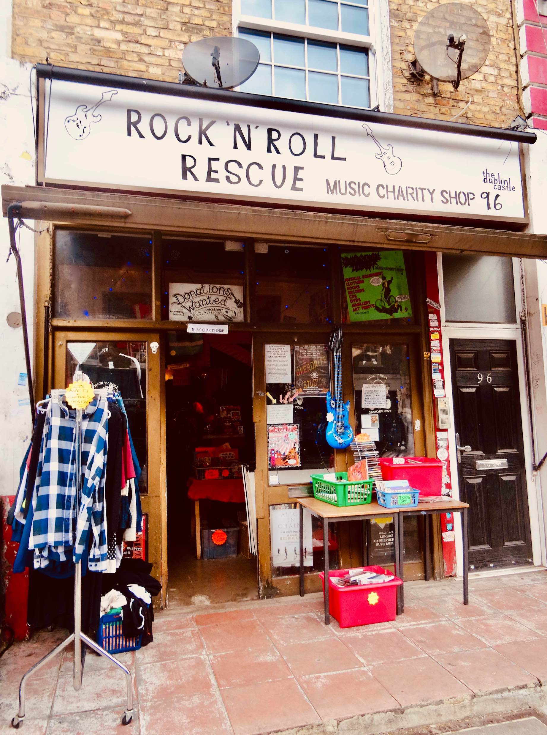 Rock 'n' Roll Rescue Music Charity Shop.