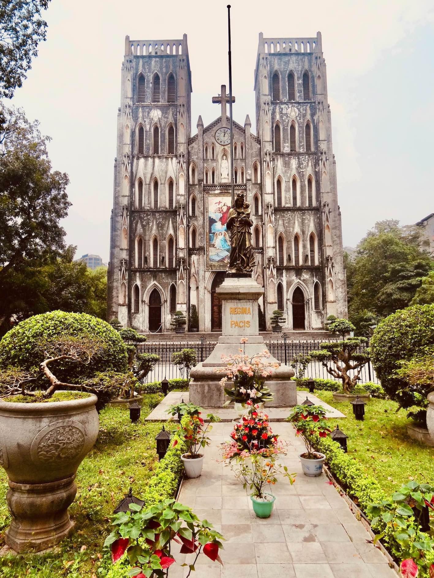 St. Joseph's Cathedral Cool Spots Around Hanoi