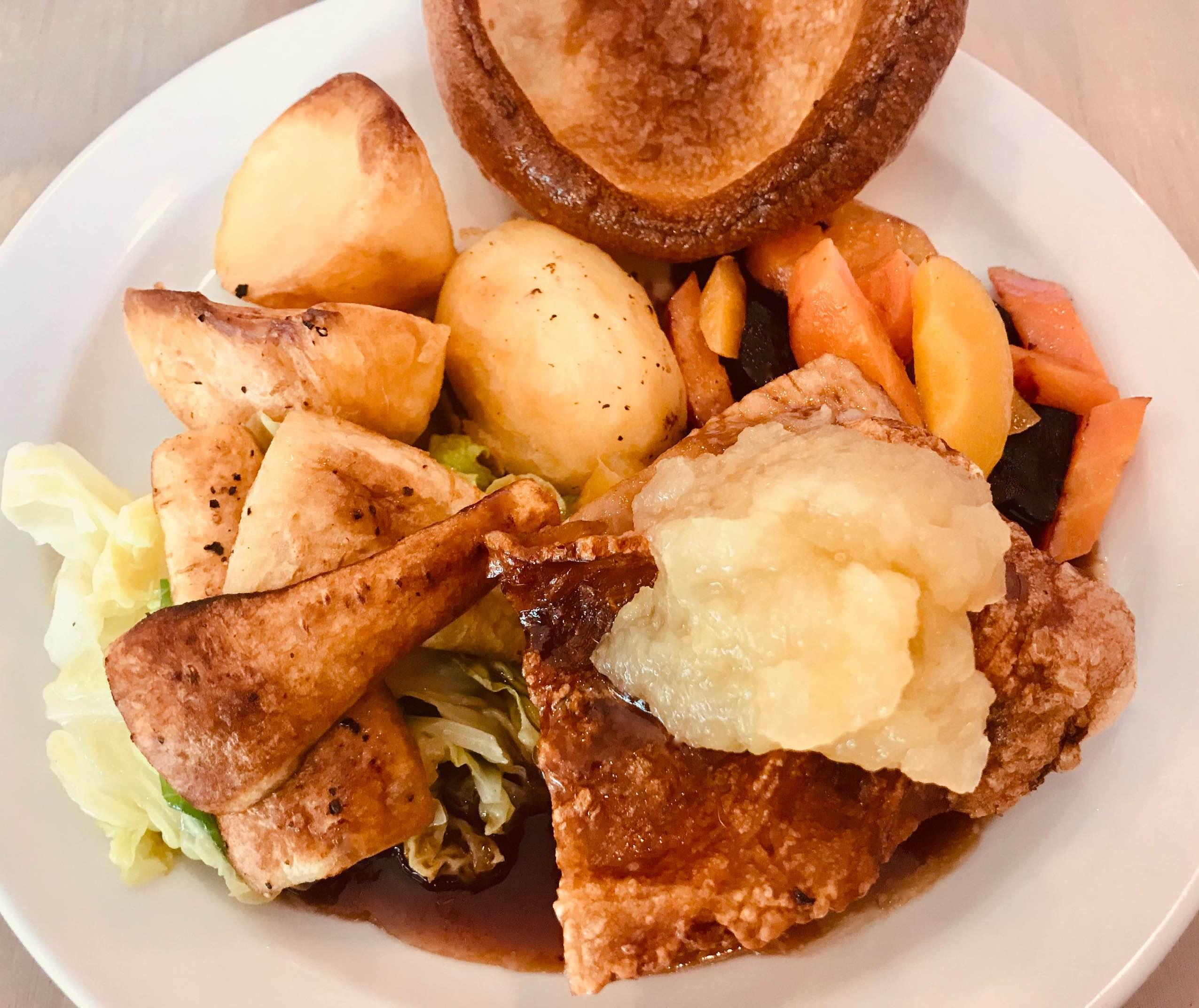 Sunday roast crispy pork belly Richard's Kitchen