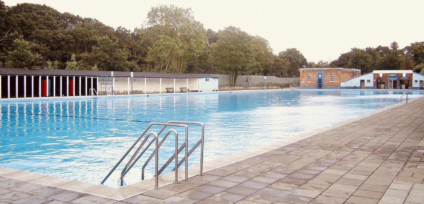 Tooting Bec Lido Britain's largest freshwater swimming pool