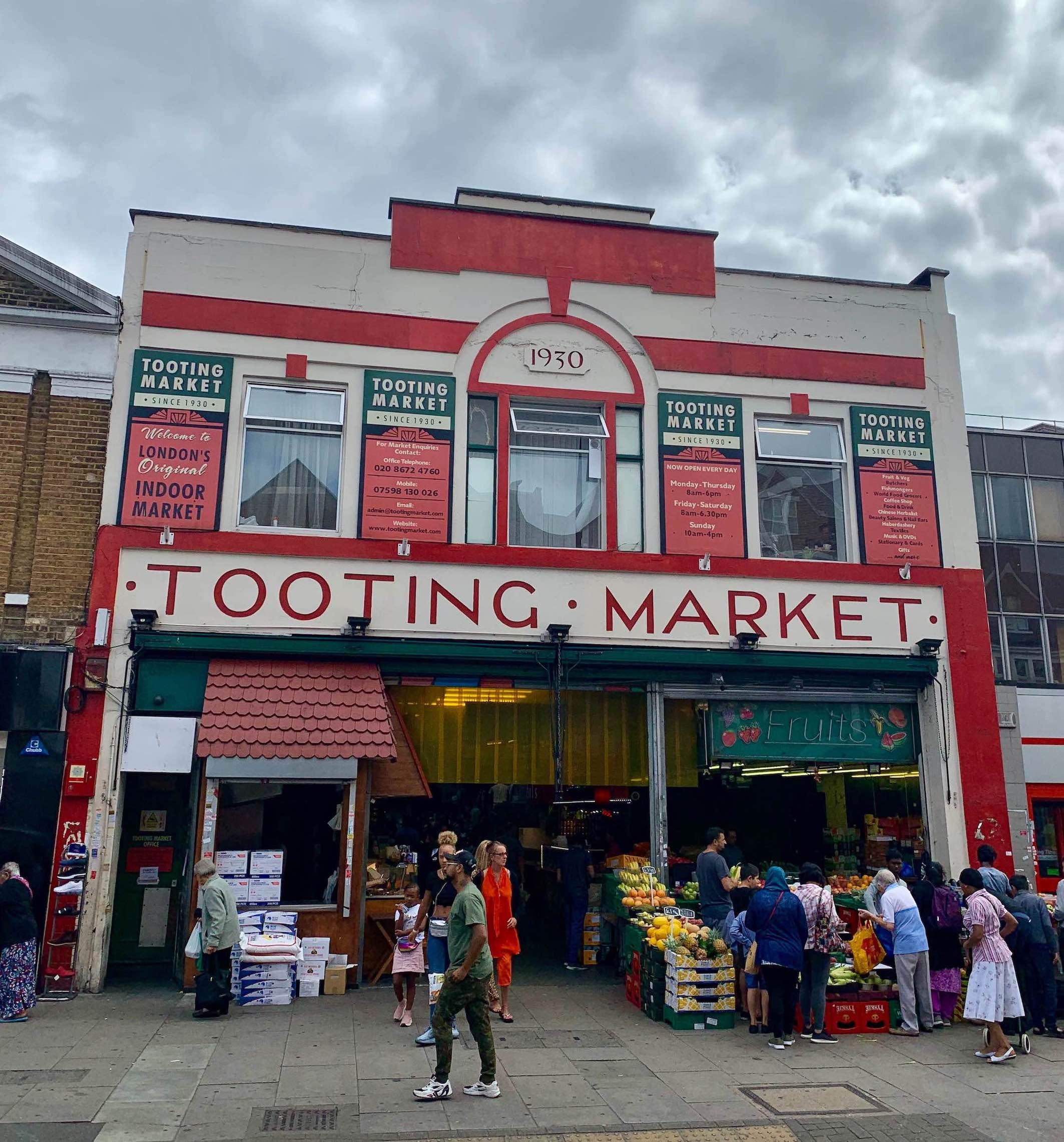 Tooting Market London.