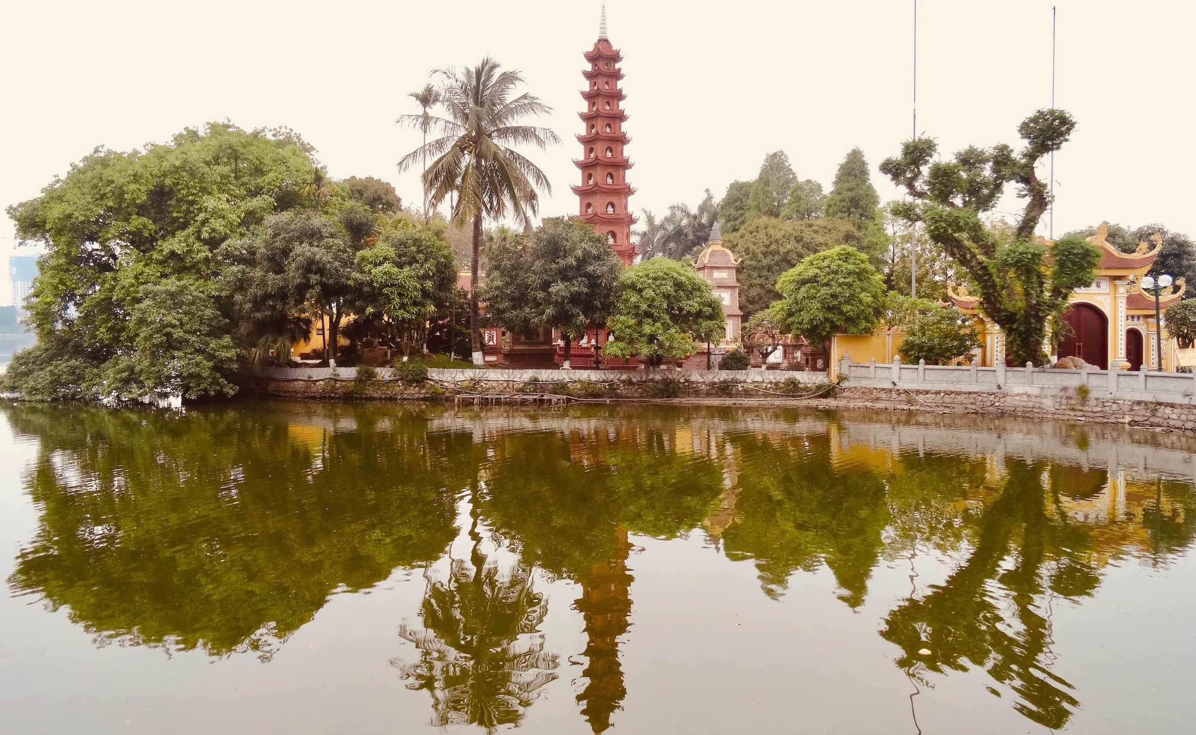 Tran Quoc Pagoda Hanoi.
