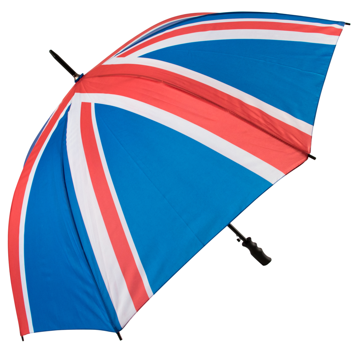 Union jack umbrella.