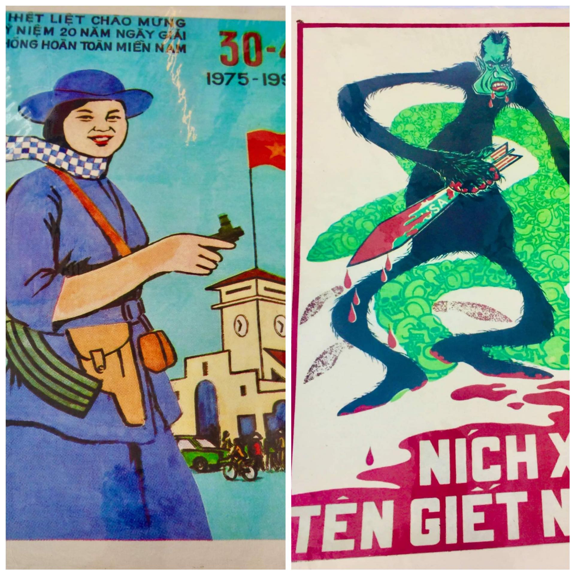 Vietnam Communist Propaganda Posters