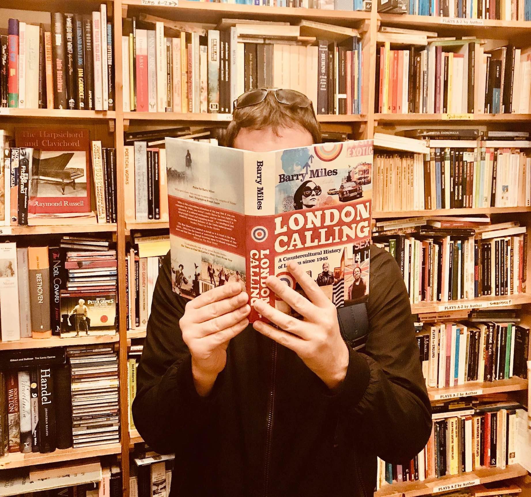 Visit Camden Town Black Gull Books.