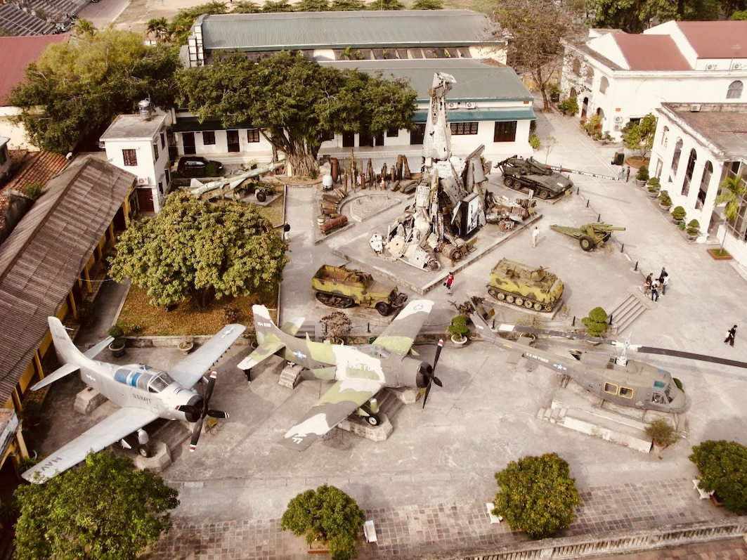 Visit the Vietnamese Military Museum in Hanoi