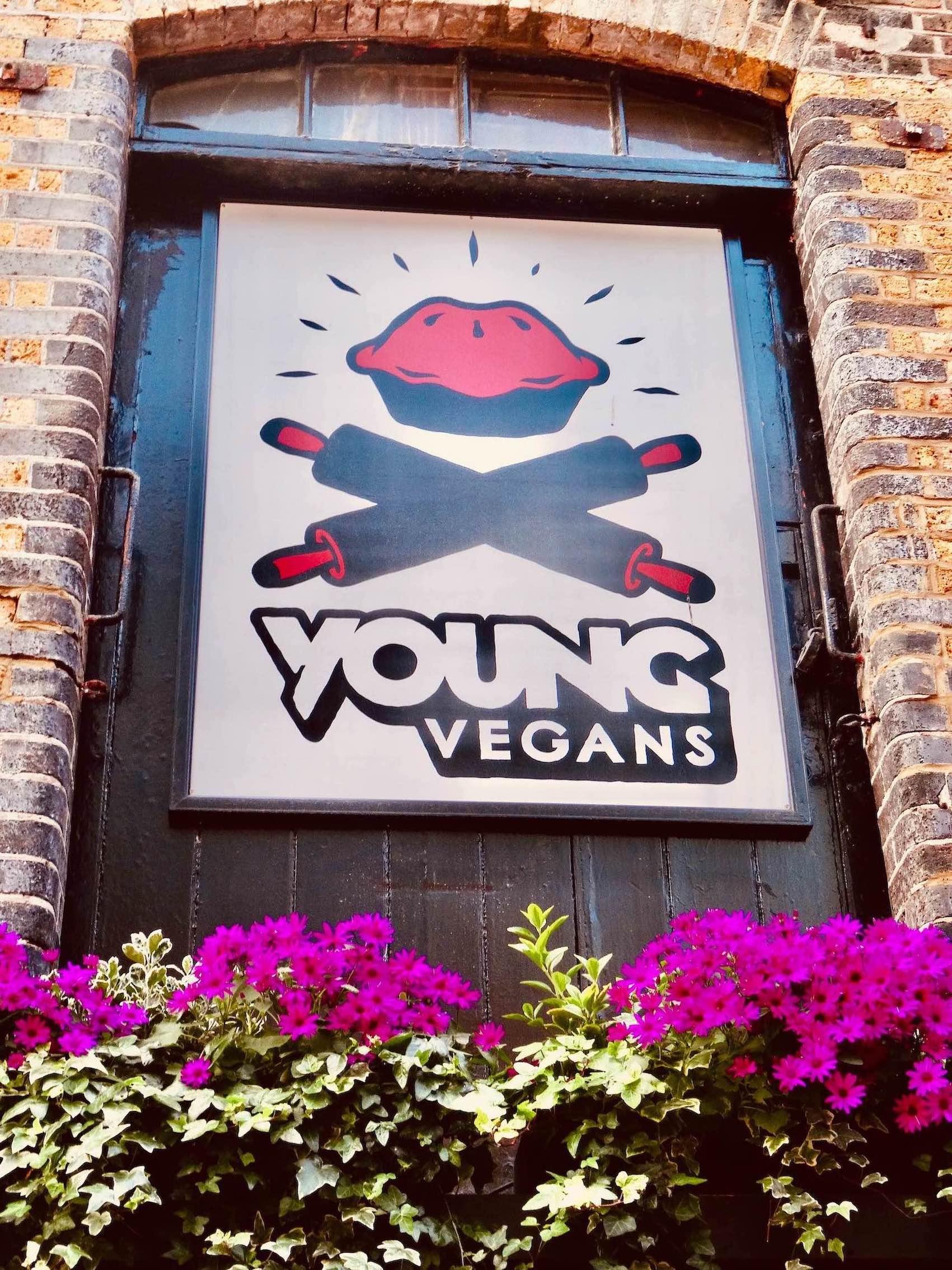 Young Vegans Pie Shop Camden Town London