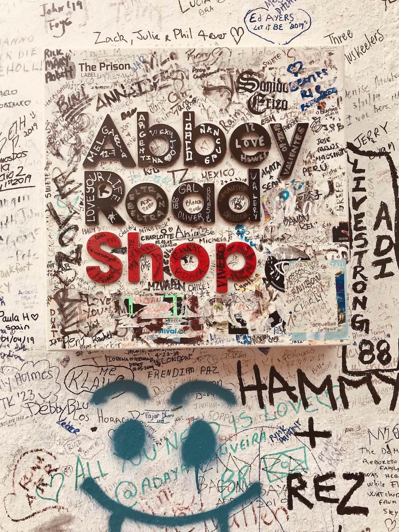 Abbey Road Shop in London.