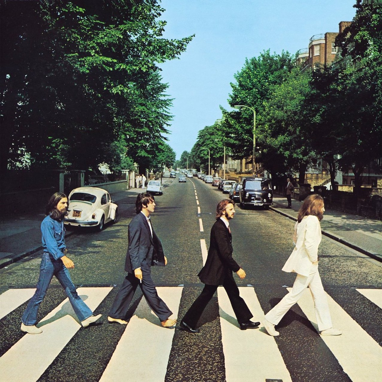 Abbey Road The Beatles cover photo