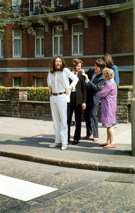Abbey Road photo shoot 8th of August 1969