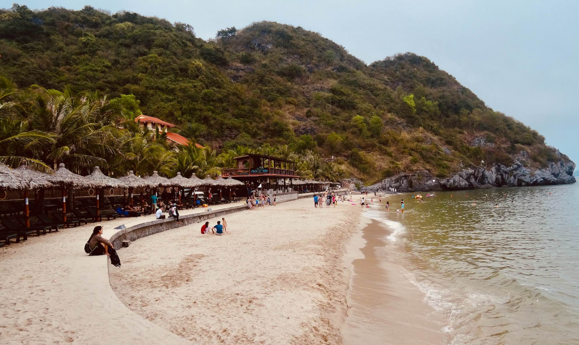 Cat Co Cove Beach 3 Cat Ba Island Vietnam