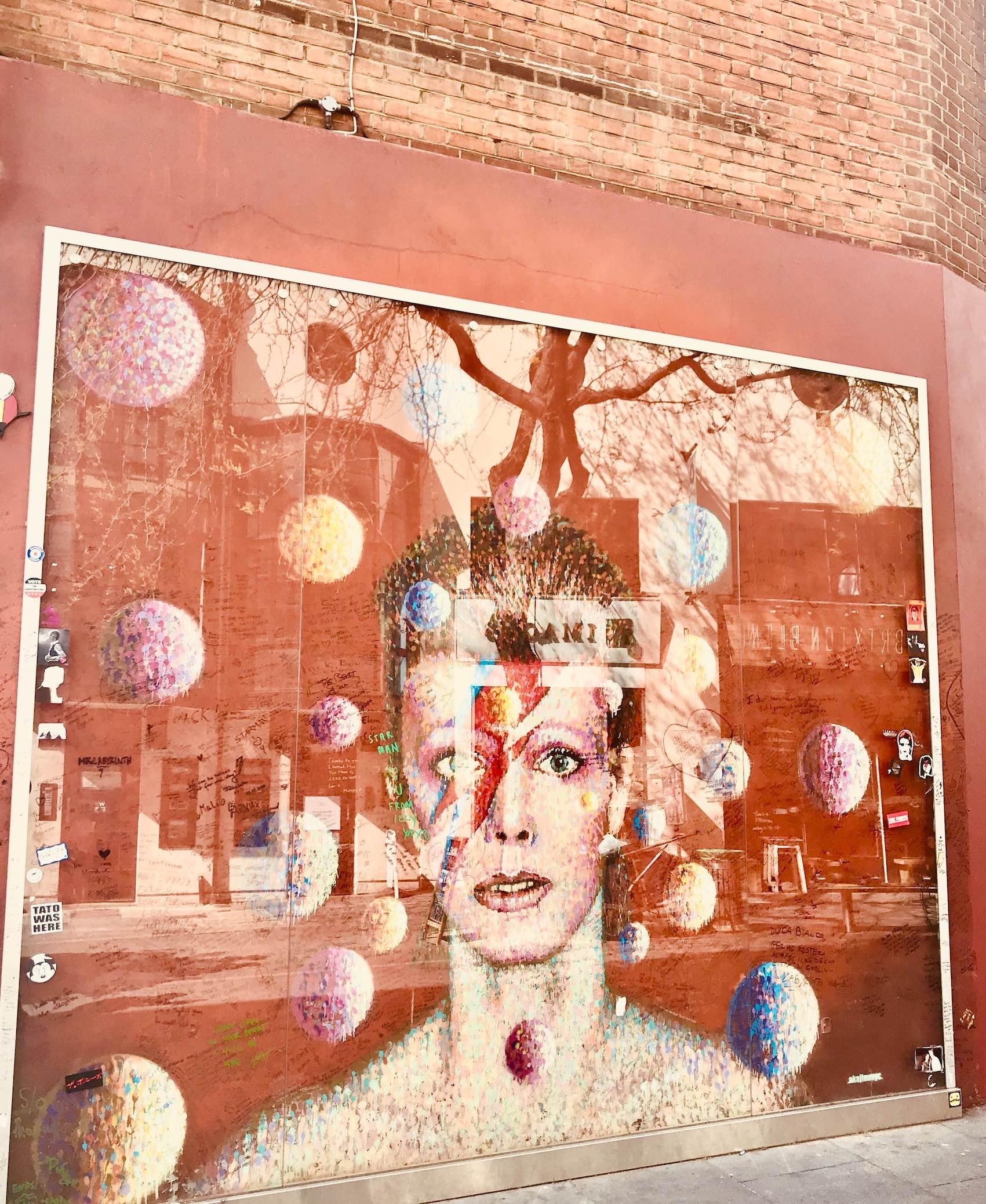 David Bowie Mural.