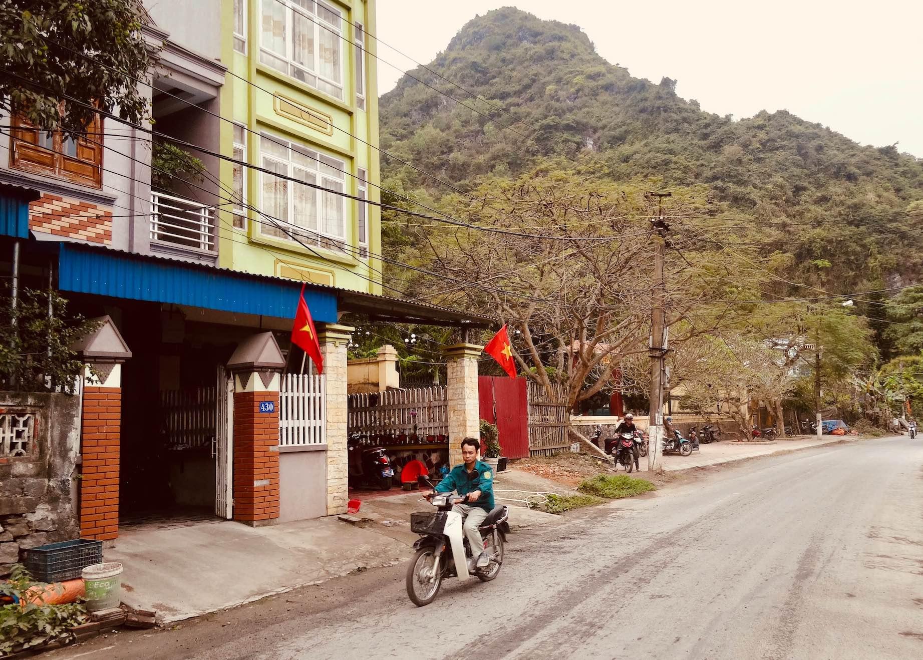 Exploring Cat Ba Island in Vietnam.