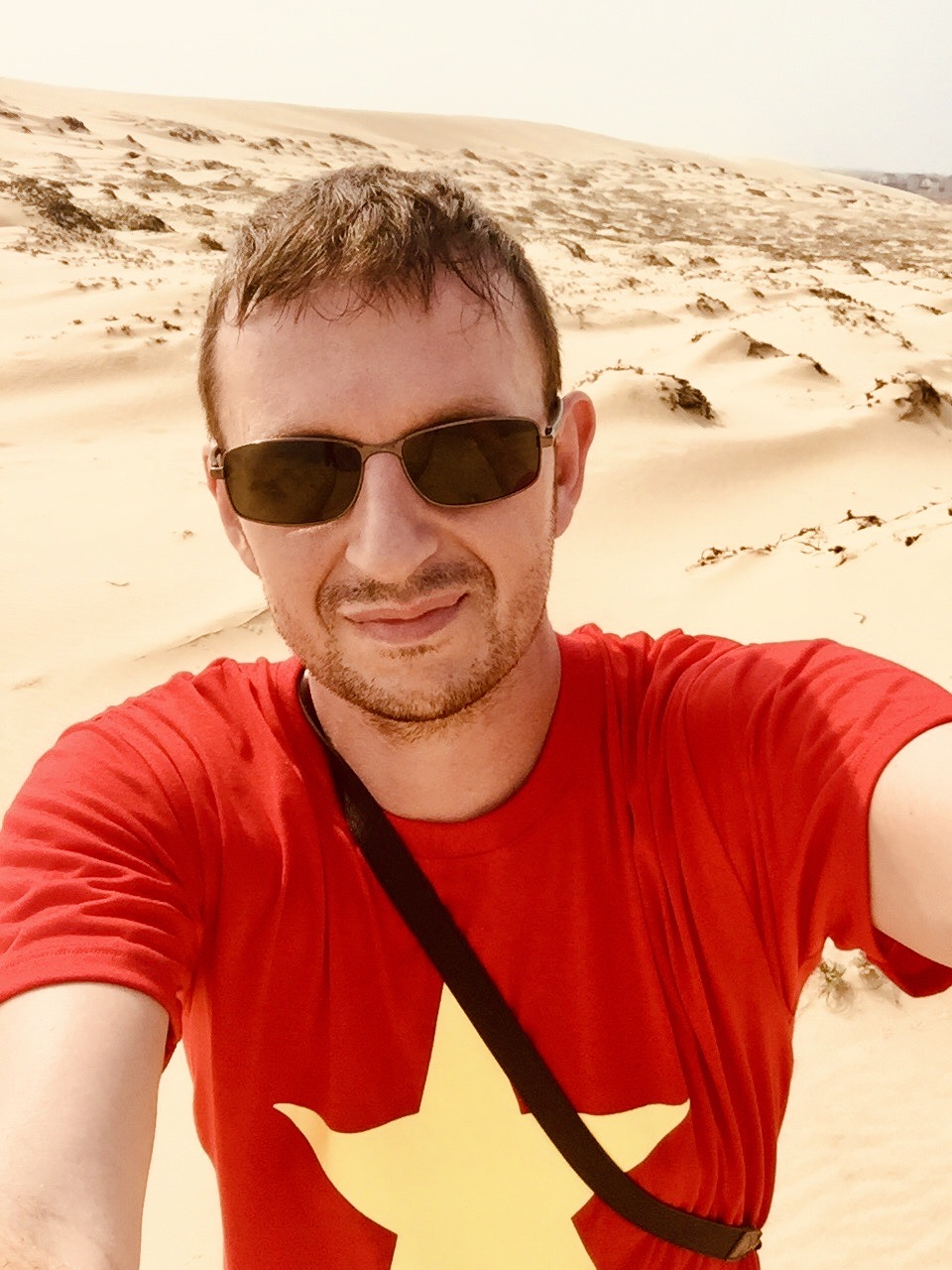 Exploring the Quang Phu Sand Dunes in Vietnam