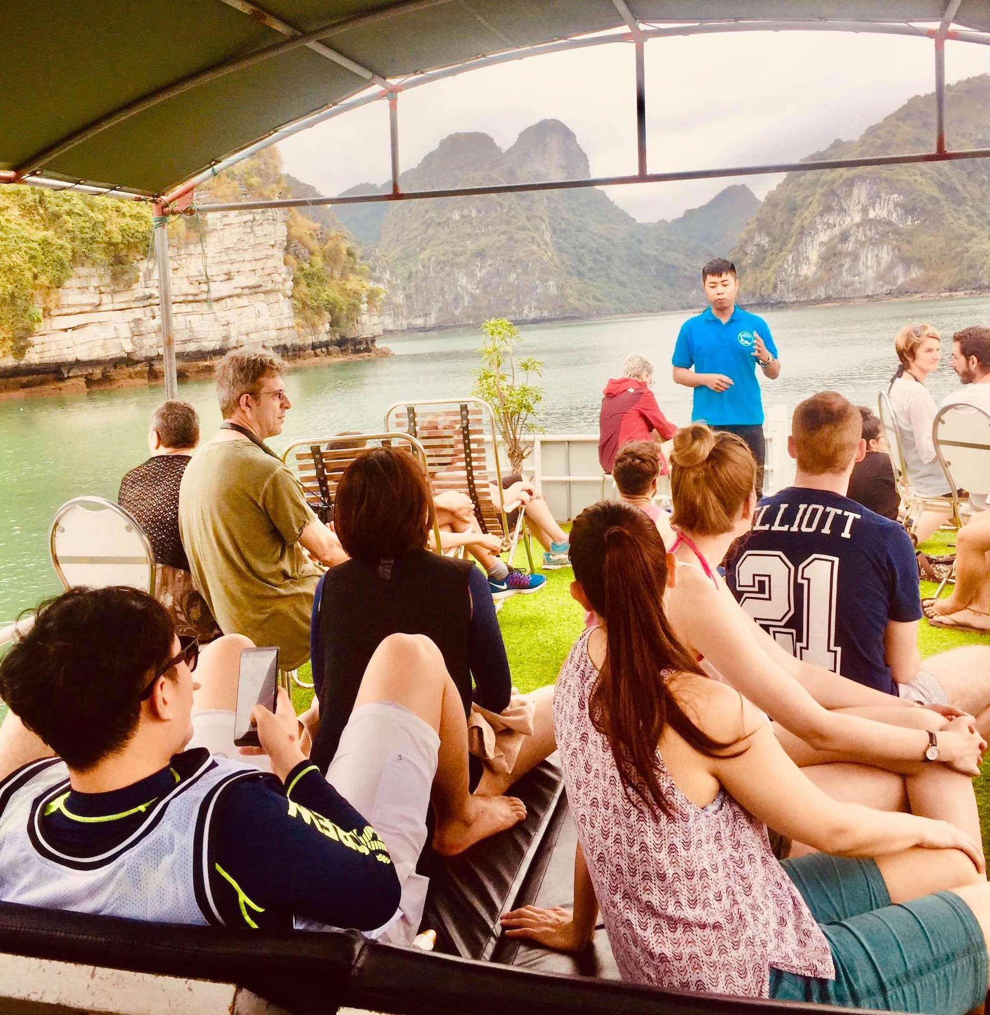 Halong Bay Cruise with tour guide Vietnam