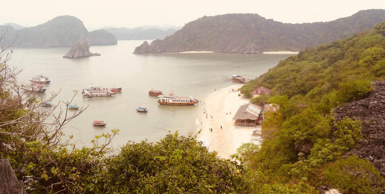 Halong Bay cruise Vietnam Monkey Island