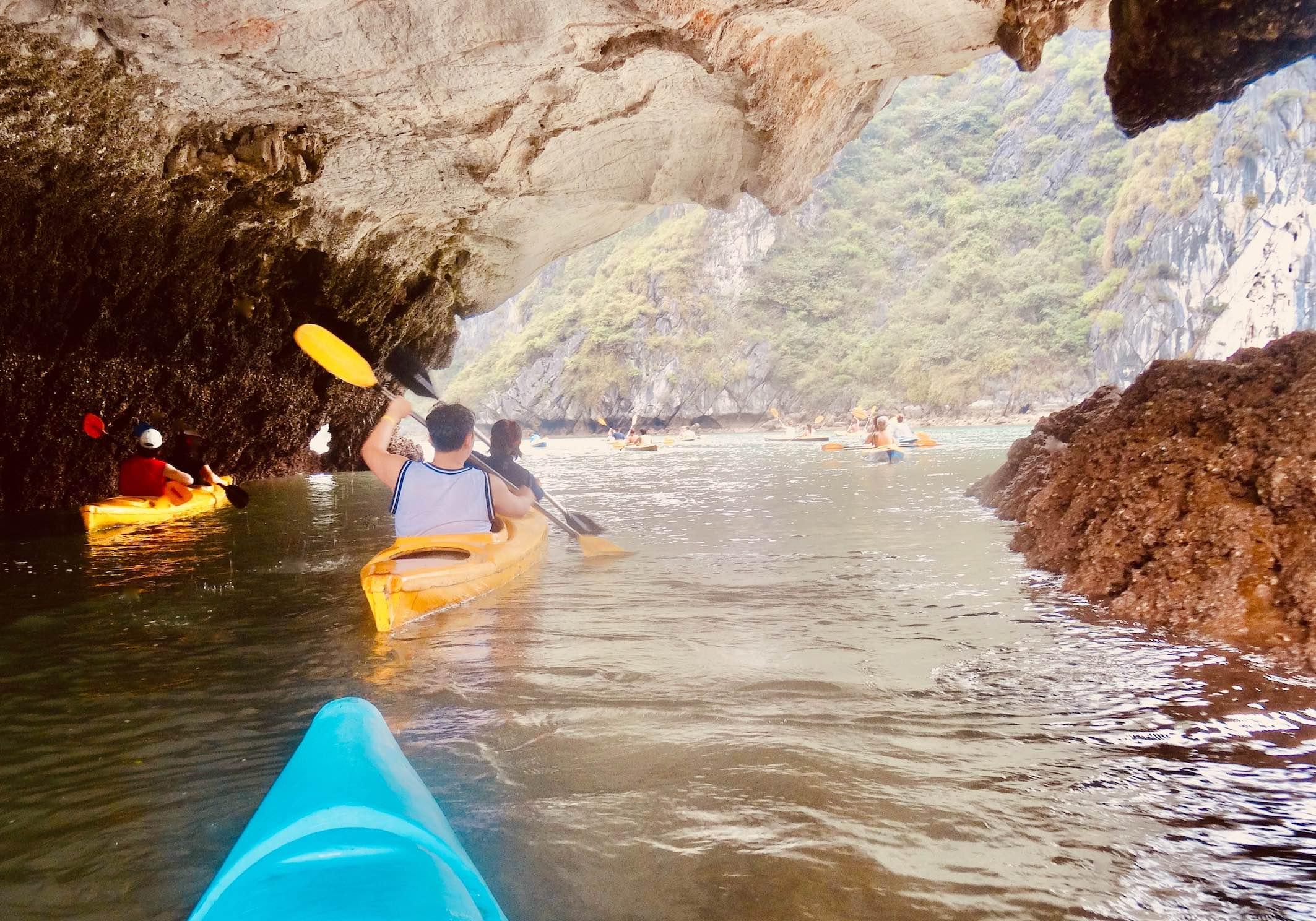 Halong Bay cruise with kayaking Green Trail Travel