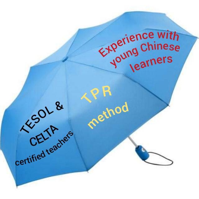 Language learning Umbrella.