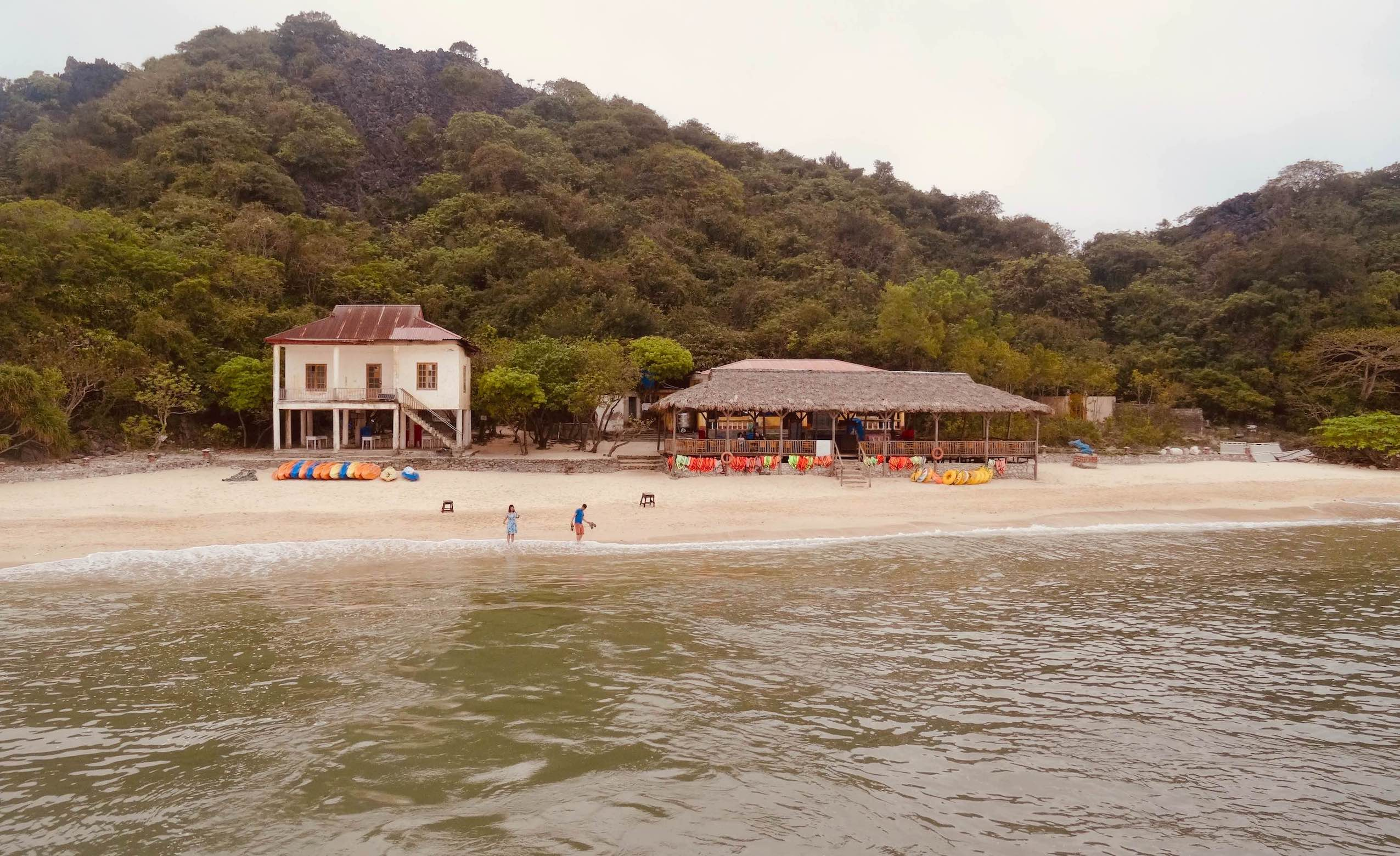 Monkey Island Halong Bay.