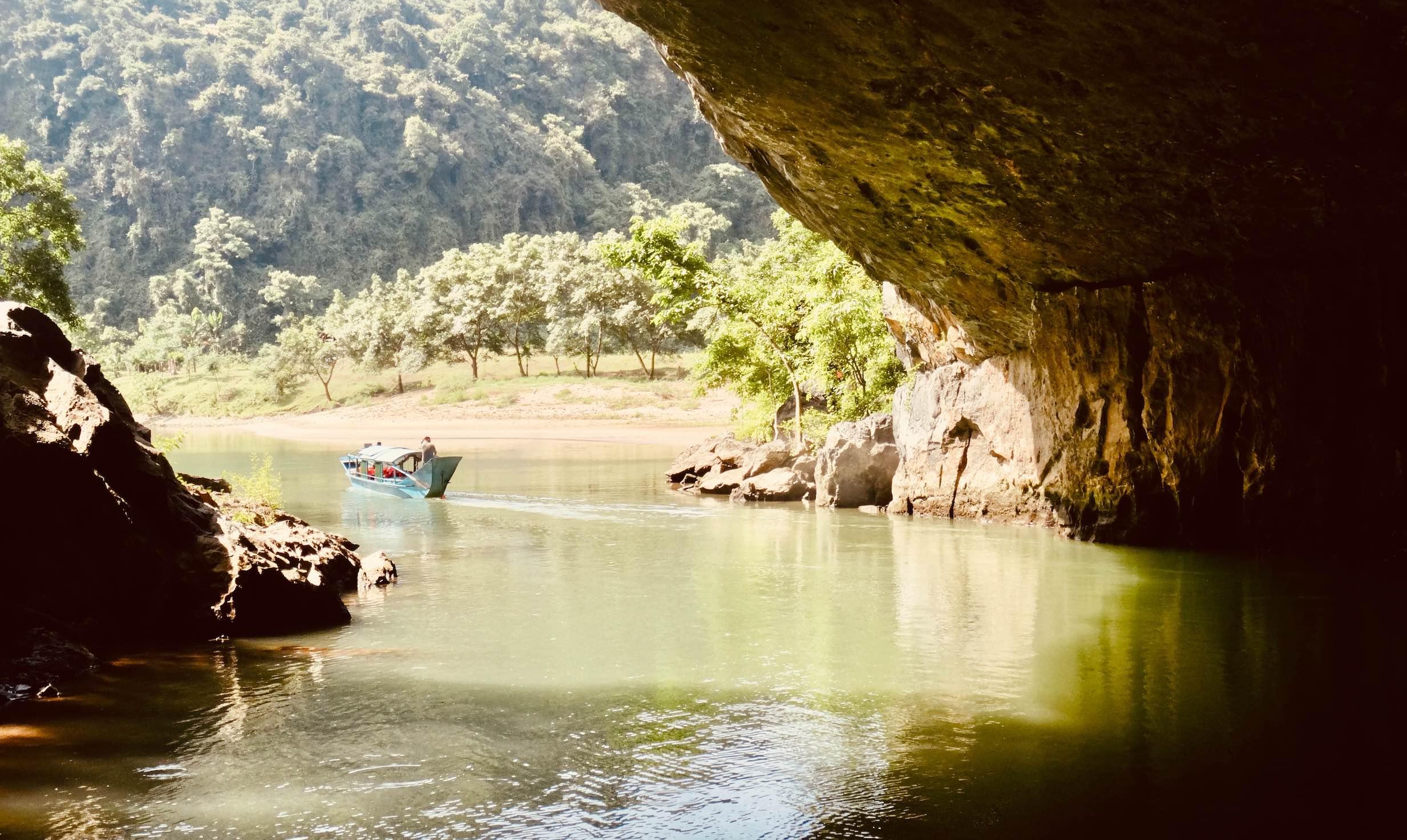 Phong Nha Cave in Vietnam.