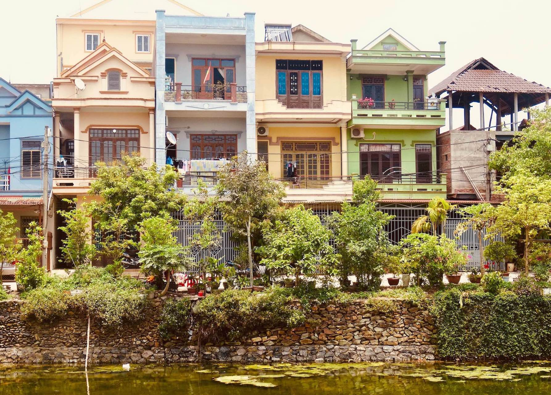 Royal residences Dong Hoi Vietnam