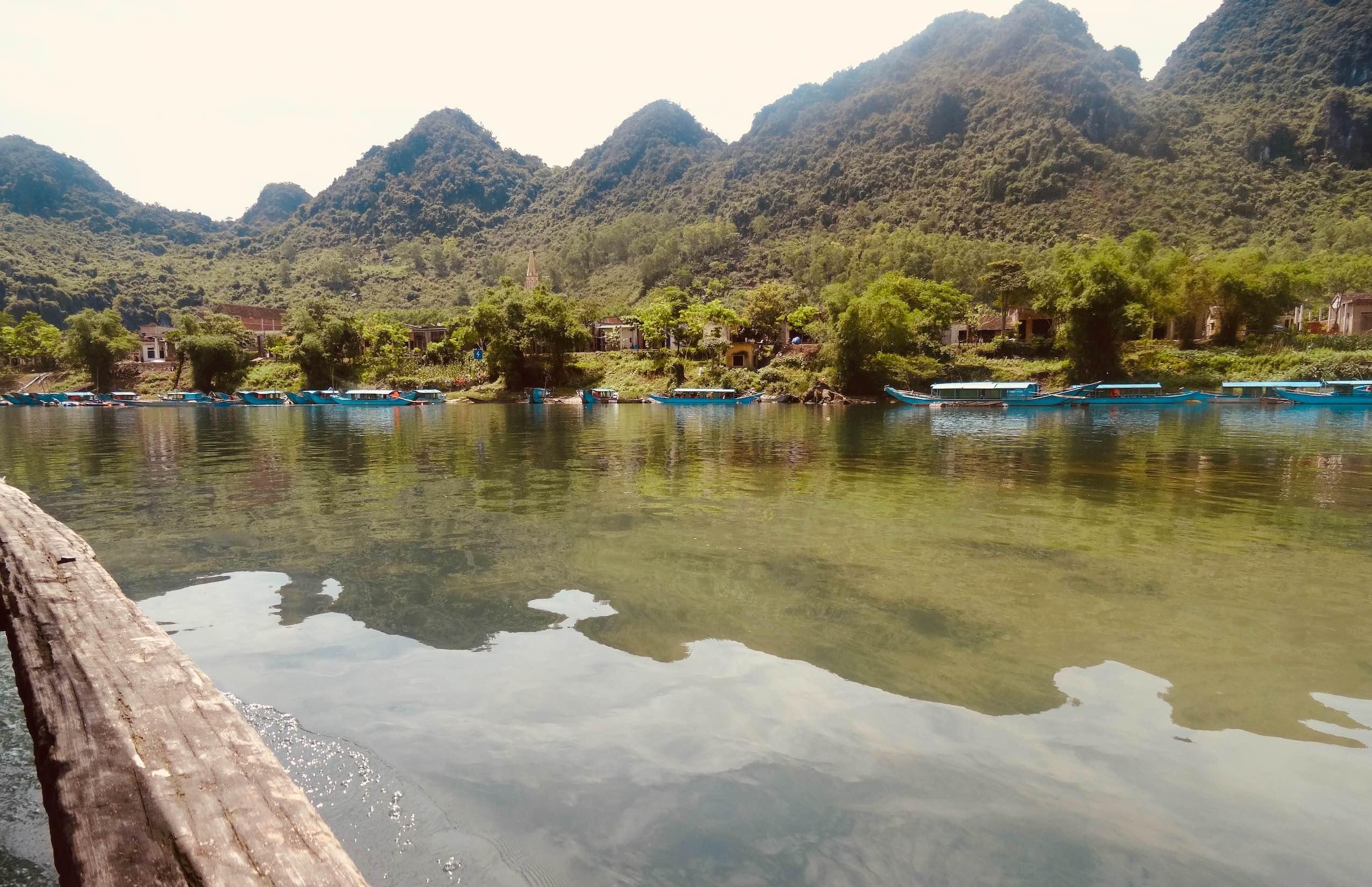 Son River cruise in Vietnam.