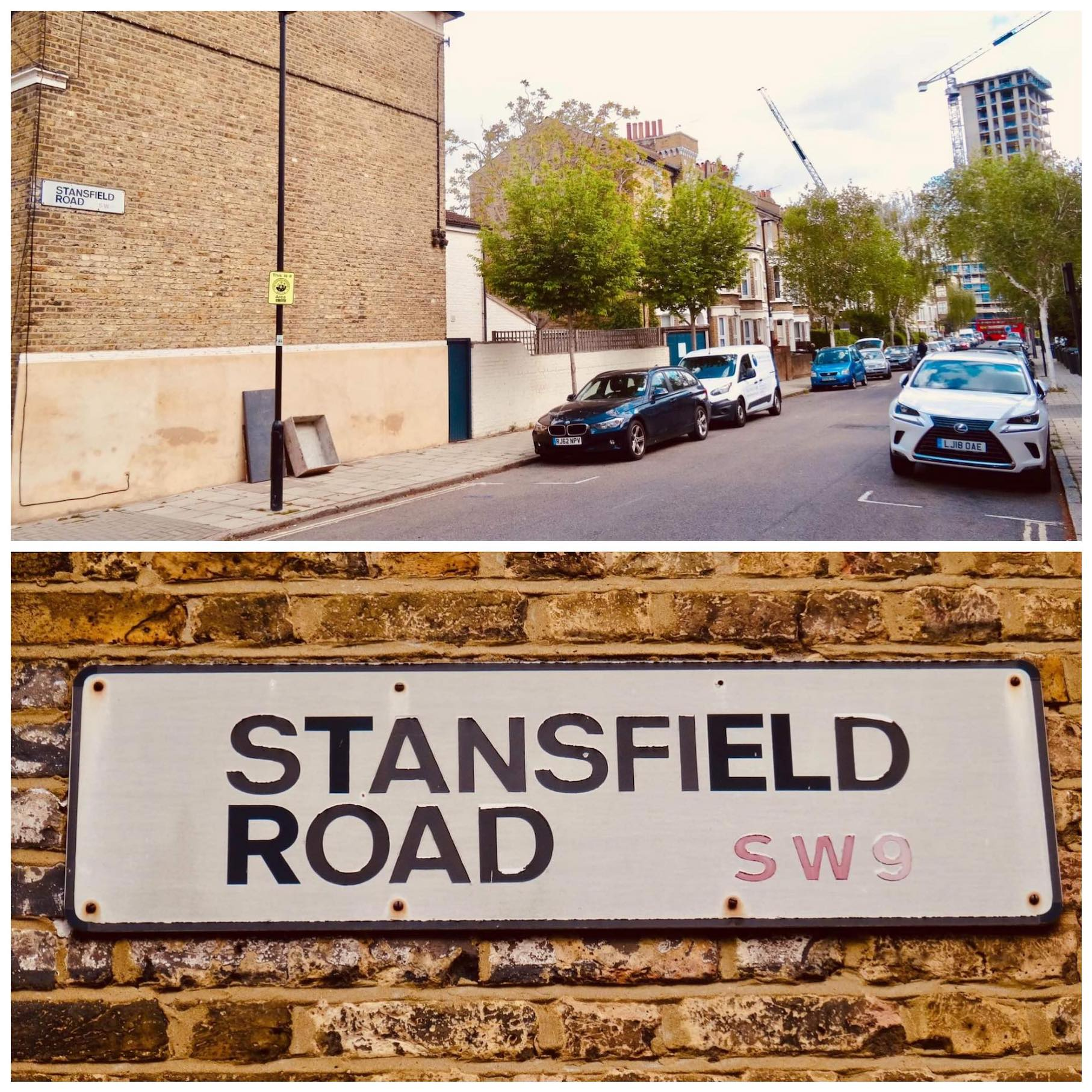 Stansfield Road in London