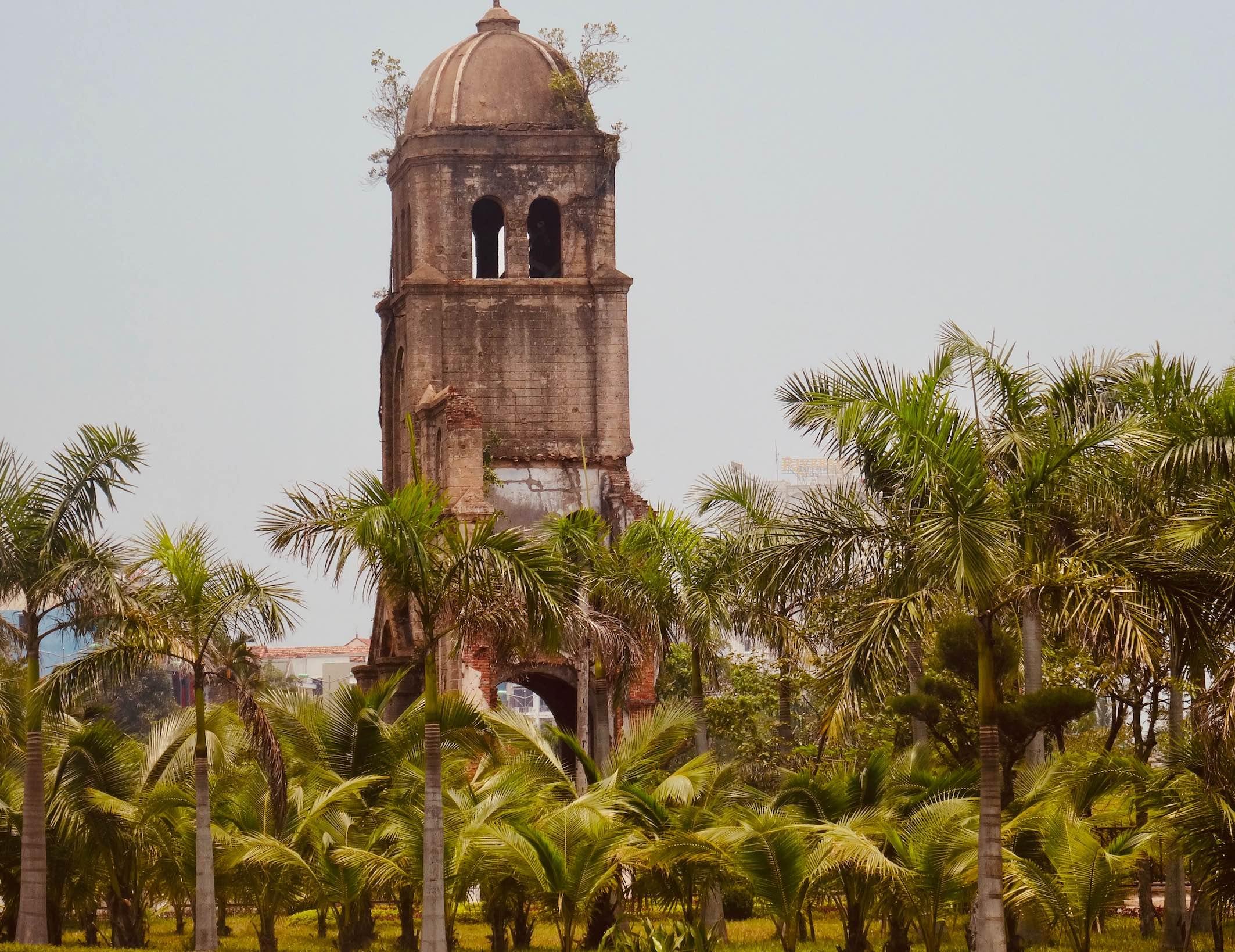 Tam Toa Church Dong Hoi Vietnam.