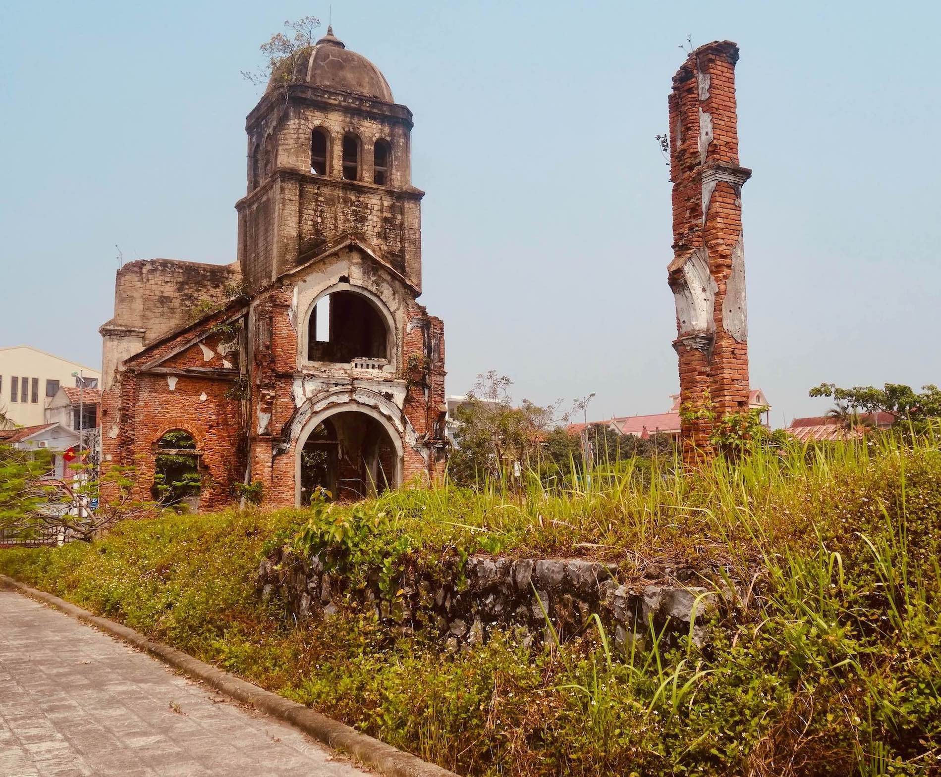 Tam Toa Church in Dong Hoi Vietnam