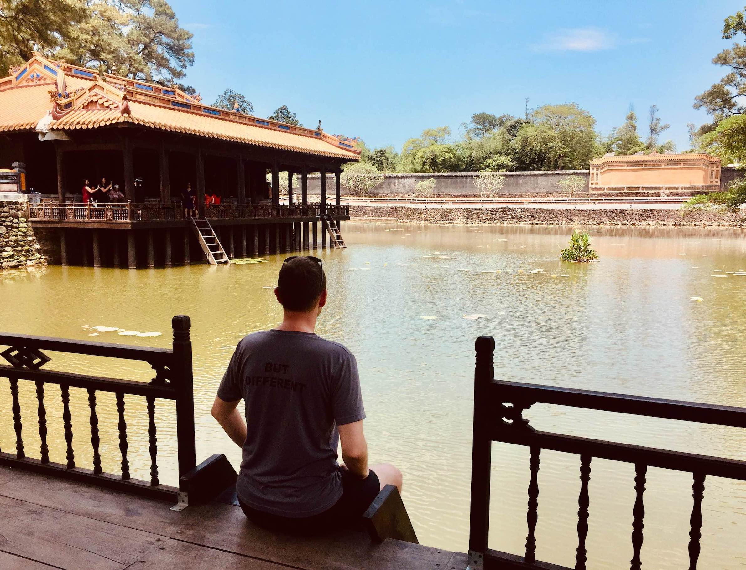 Visit Hue Tomb of Emperor Tu Duc.