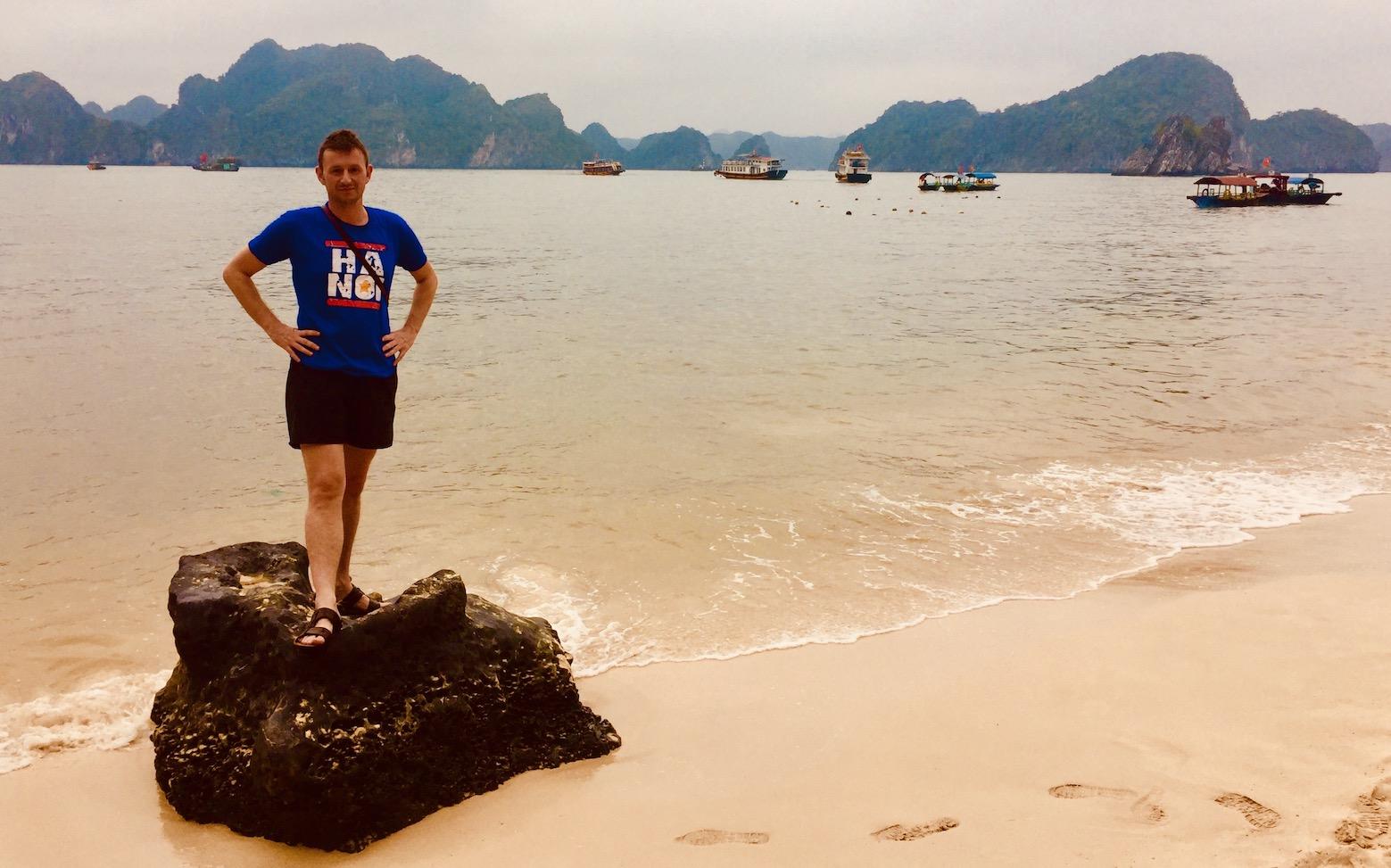 Visit Monkey Island Halong Bay.