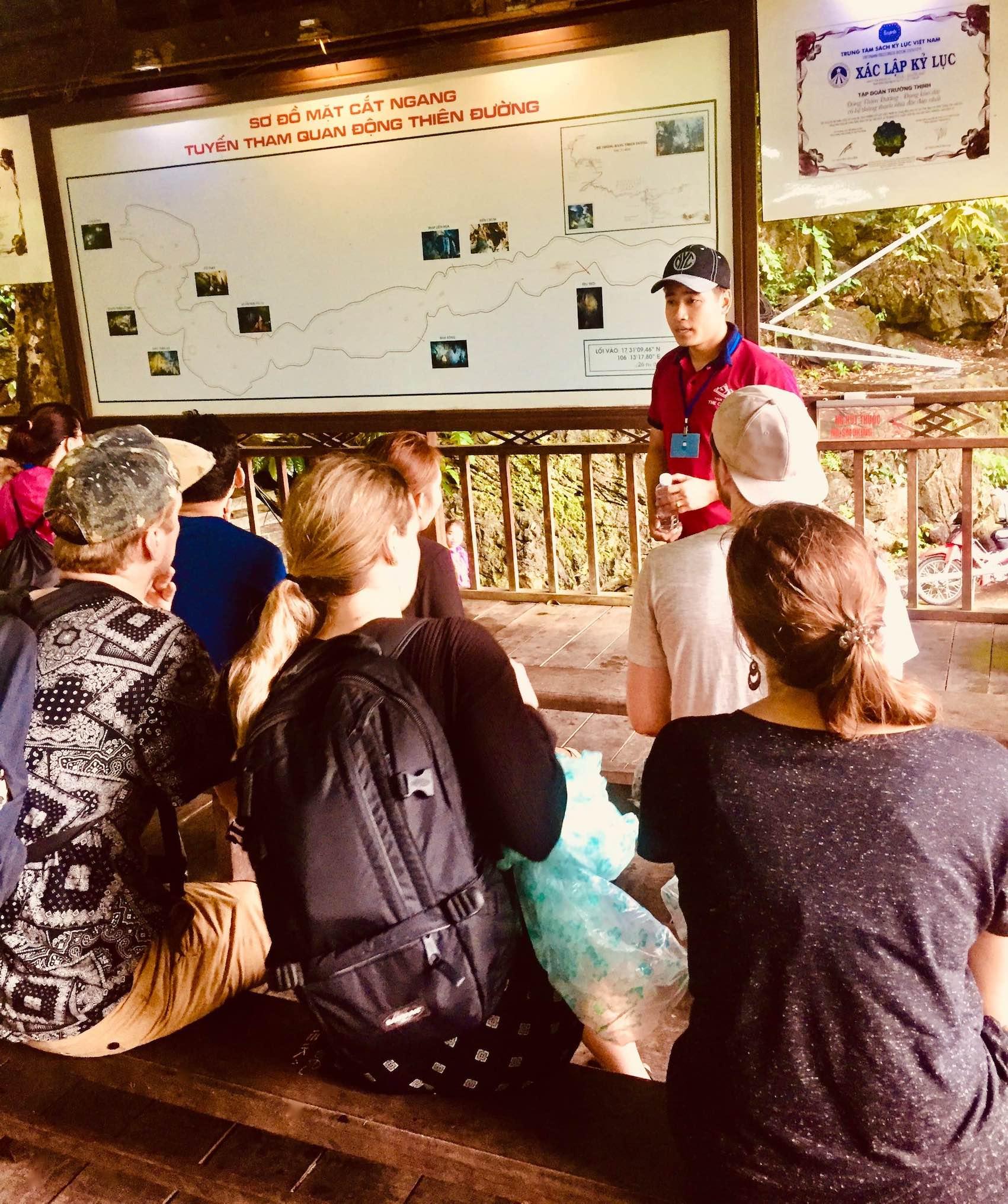 Visit Paradise Cave in Vietnam.