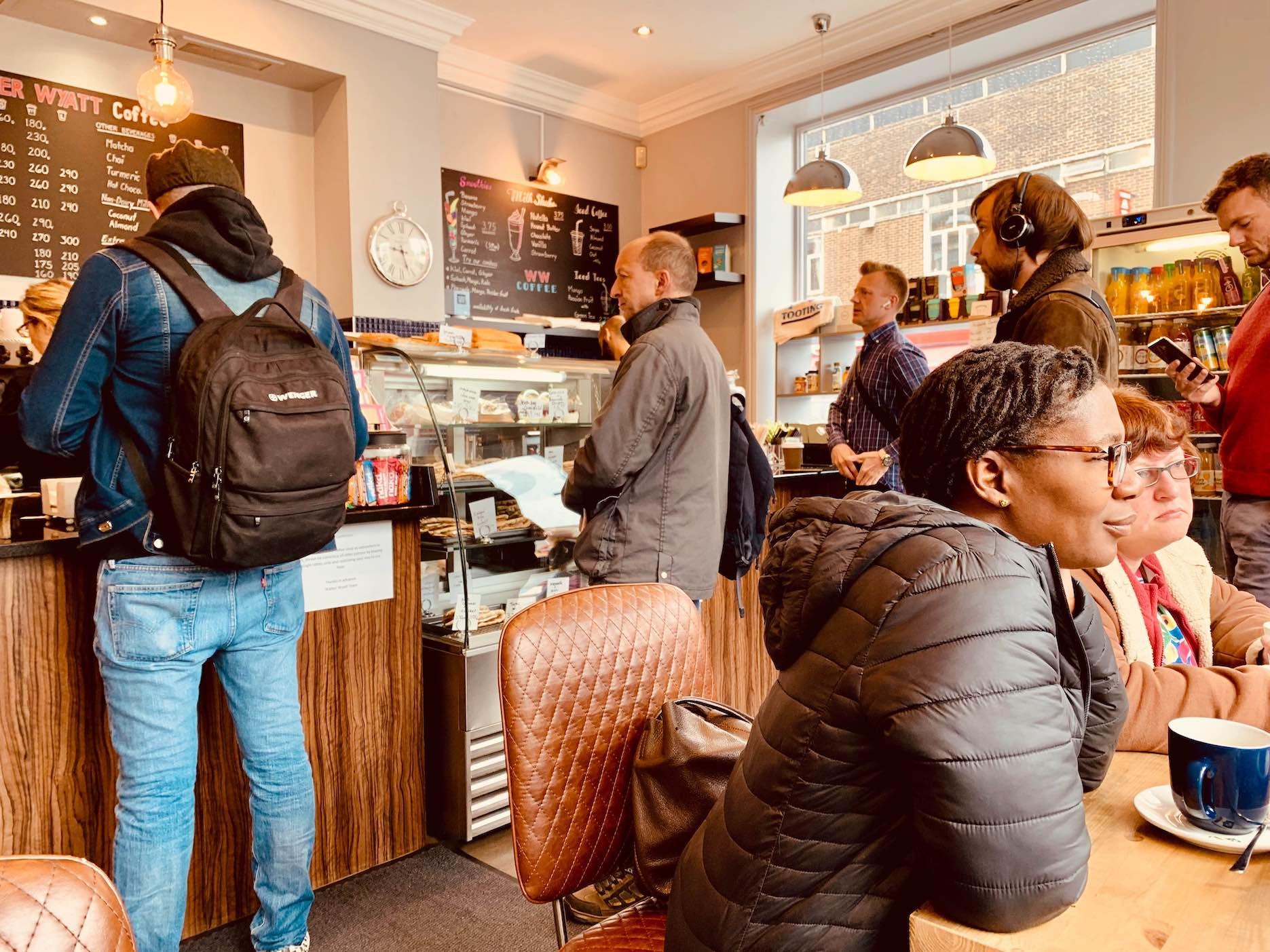 Walker Wyatt Coffee Shop Cool Spots Around Tooting Bec