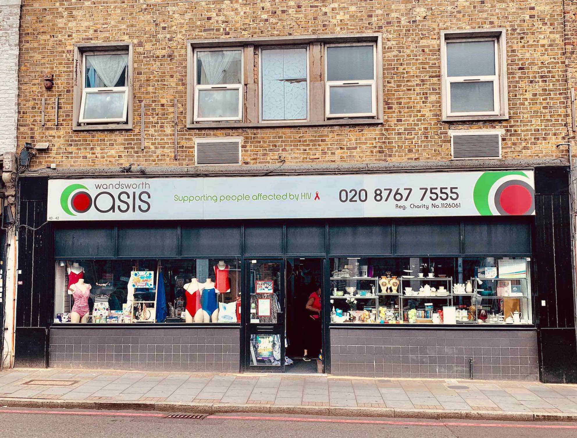 Wandsworth Oasis Charity Shop Cool Spots Around Tooting Bec