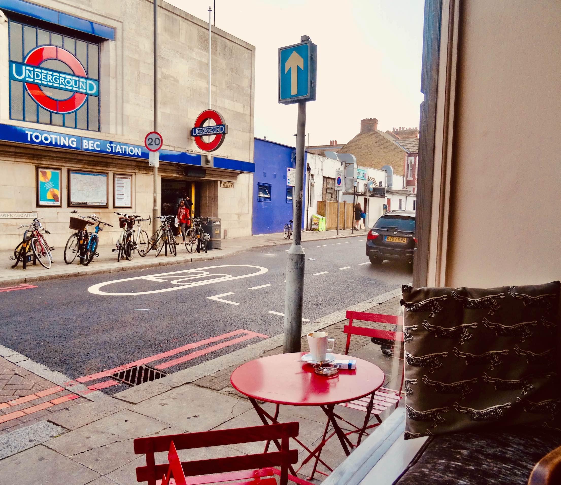 Window seat Walker Wyatt Coffee Shop