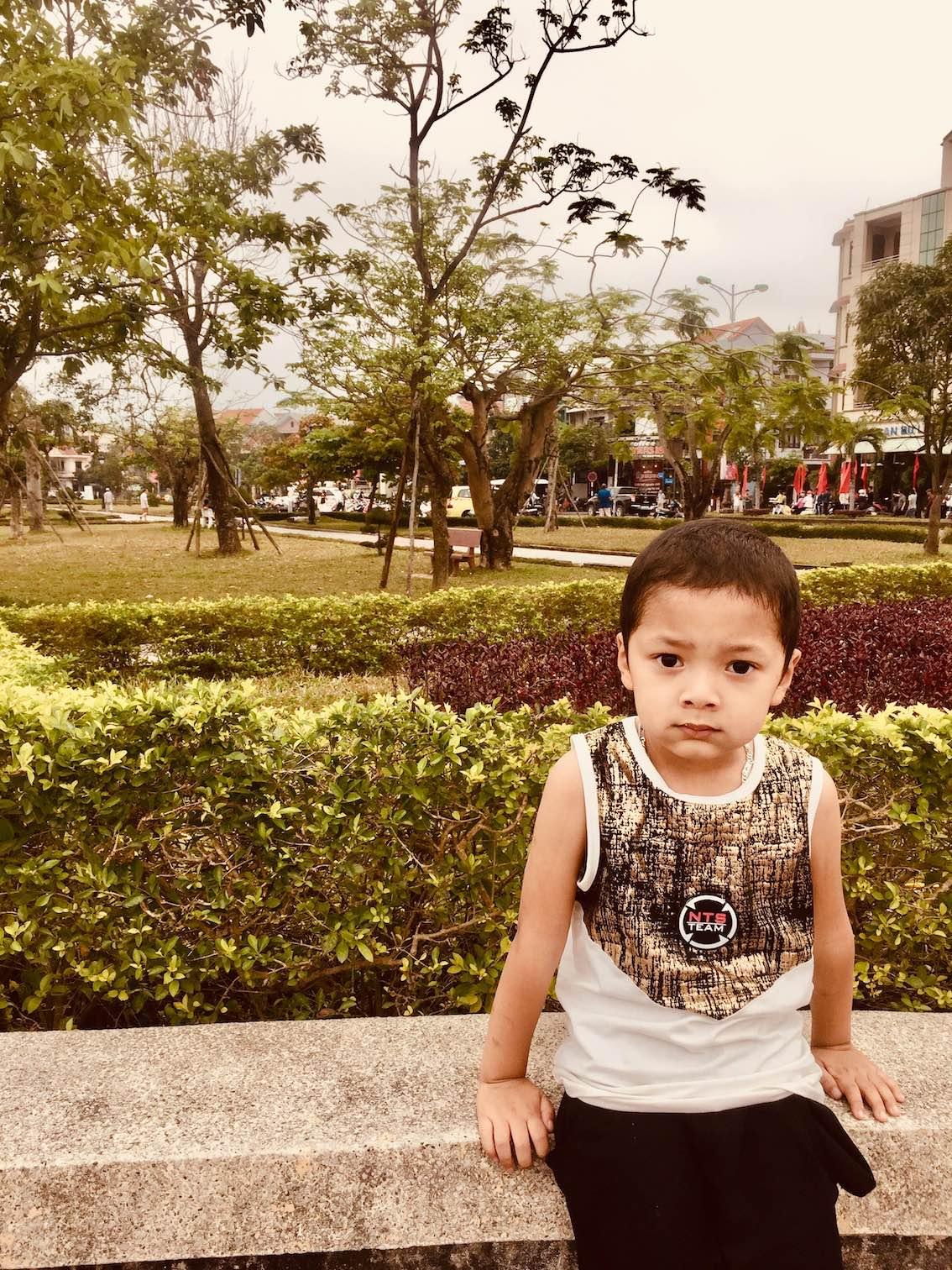 Young boy Vietnam.